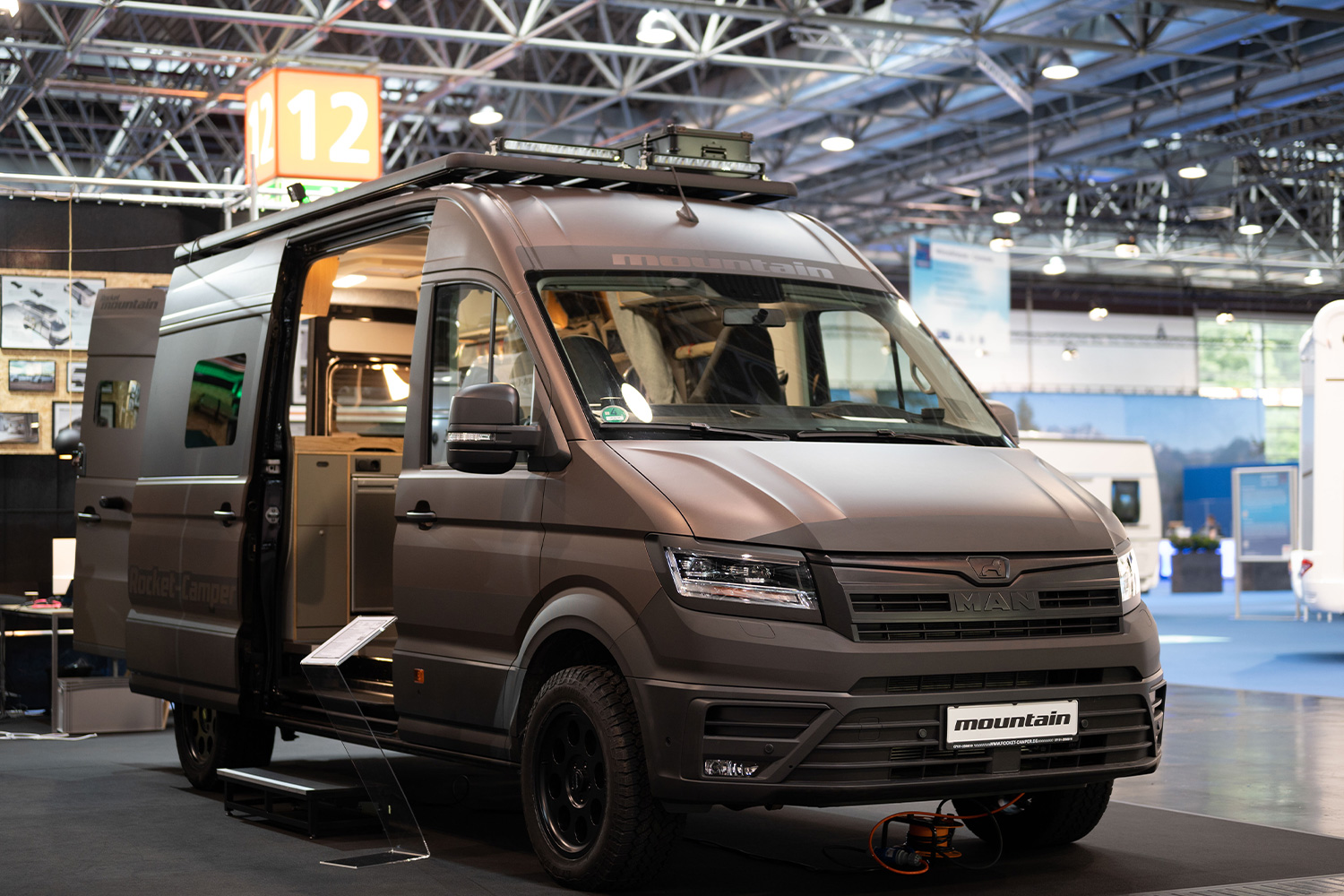 Rocket Camper jumps over to the MAN TGE 4x4 from the Fiat Ducato to create the more rugged, off-road-ready Mountain camper van