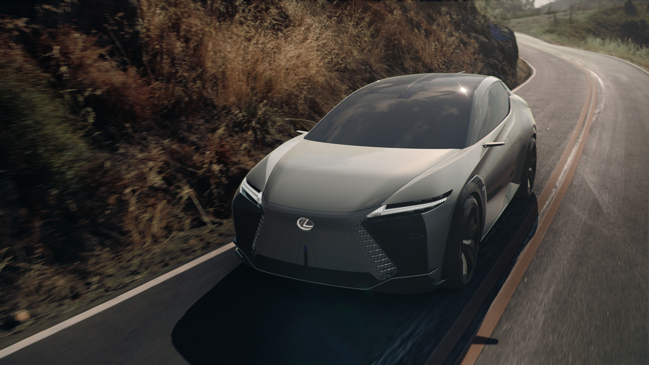 The Prius-like front profile of the Lexus LF-Z Electrified concept may not appeal to some