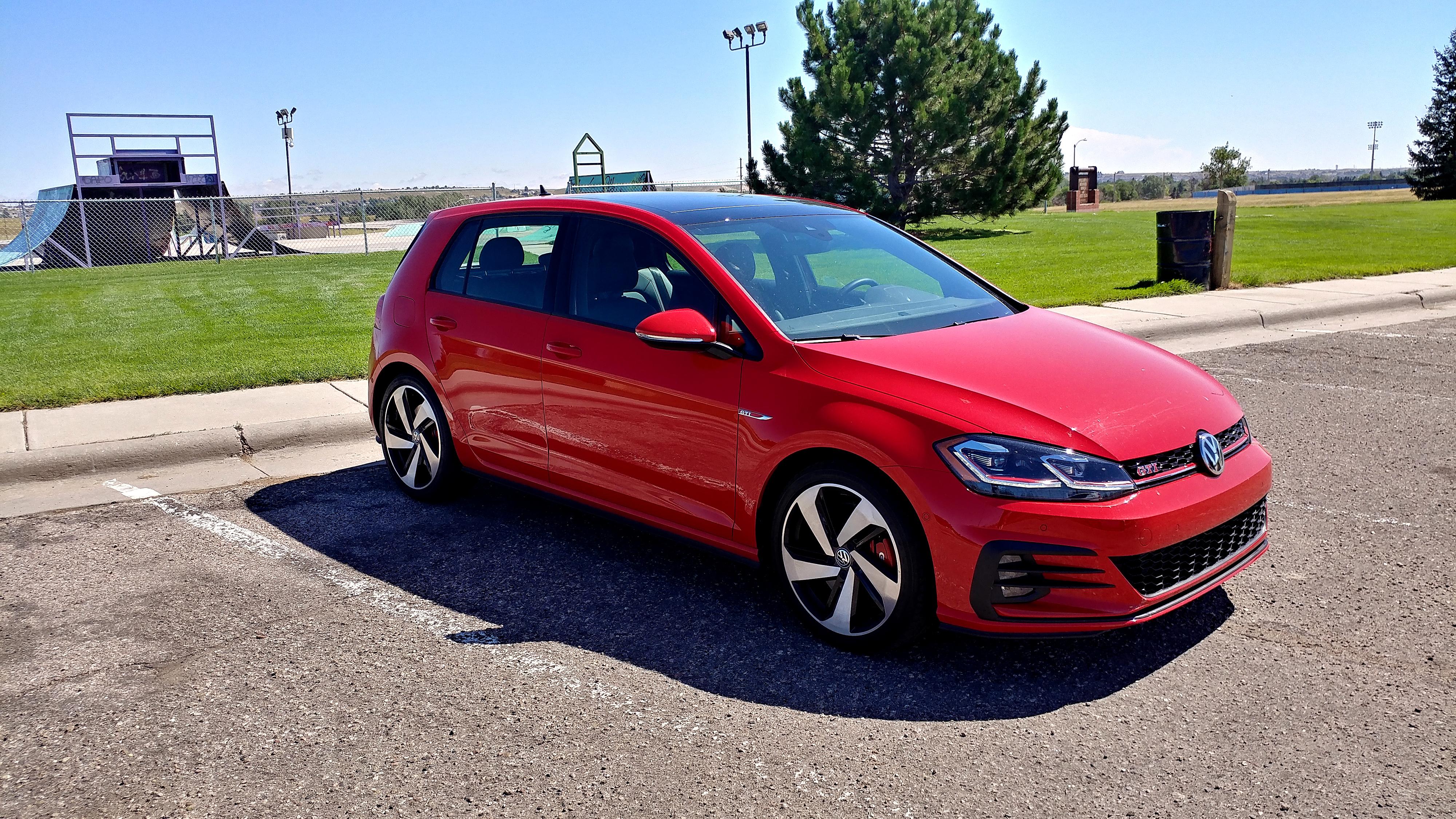 """Defining """"hot hatch"""" in a 2019 Volkswagen Golf GTI"""