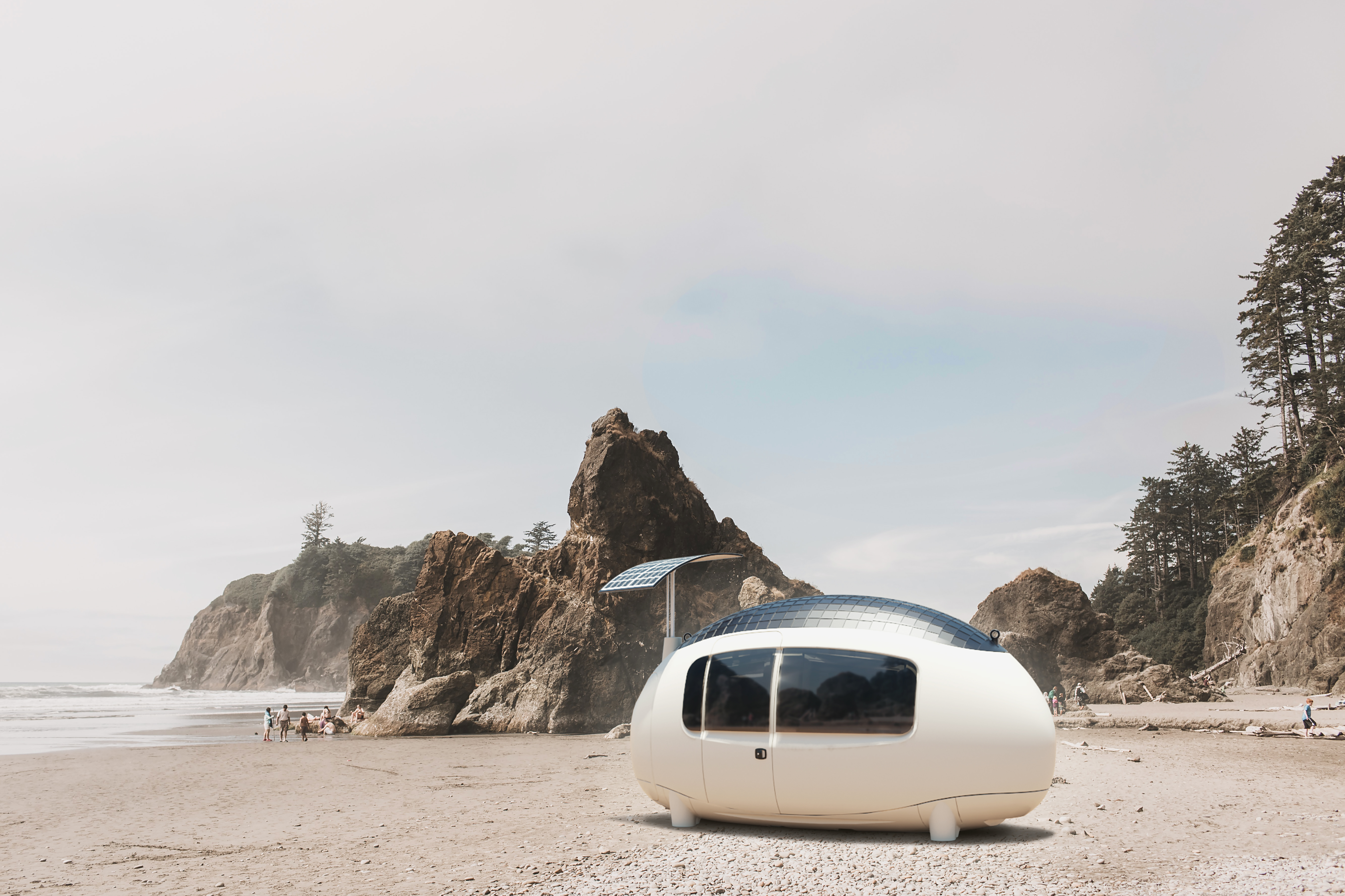 The Space by Ecocapsule starts at €49,900 (roughly US$55,000)