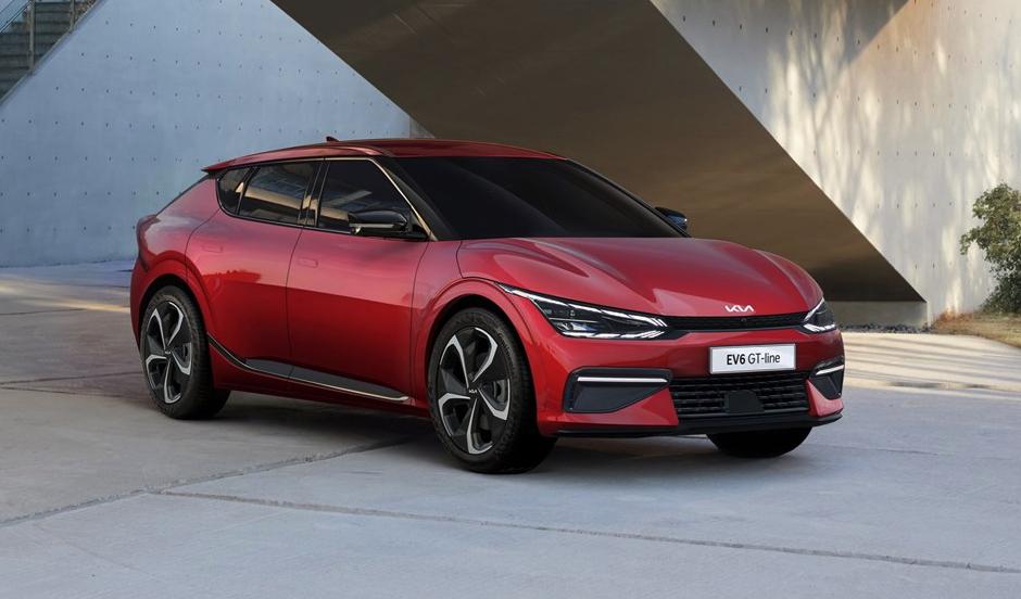Kia reveals the EV6 electric crossover