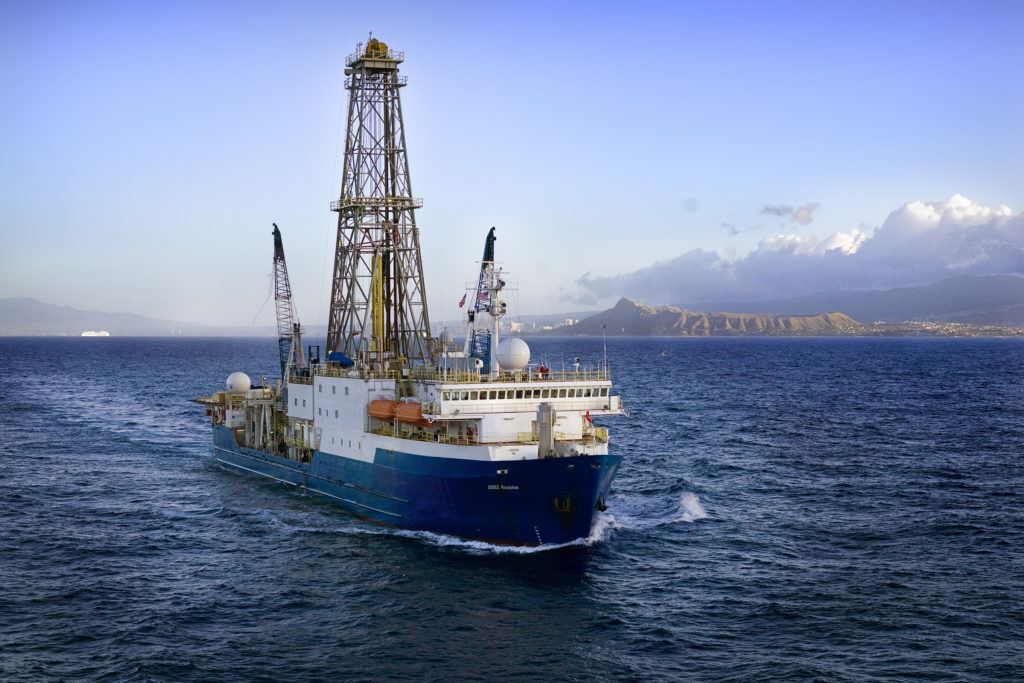 Rock cores drilled from the ocean floor have revealed microbial life living at intense depths, under harsh conditions