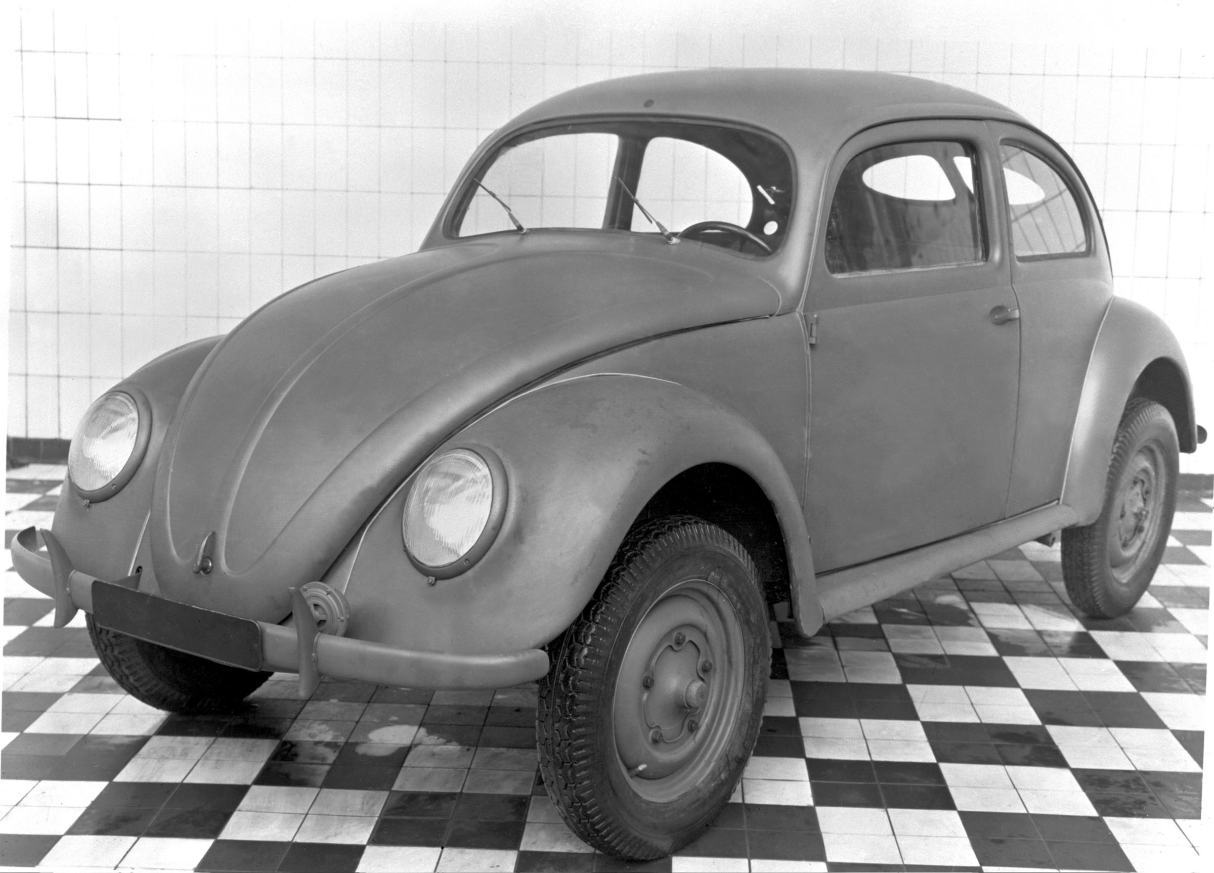 Postwar Beetle built for the British army