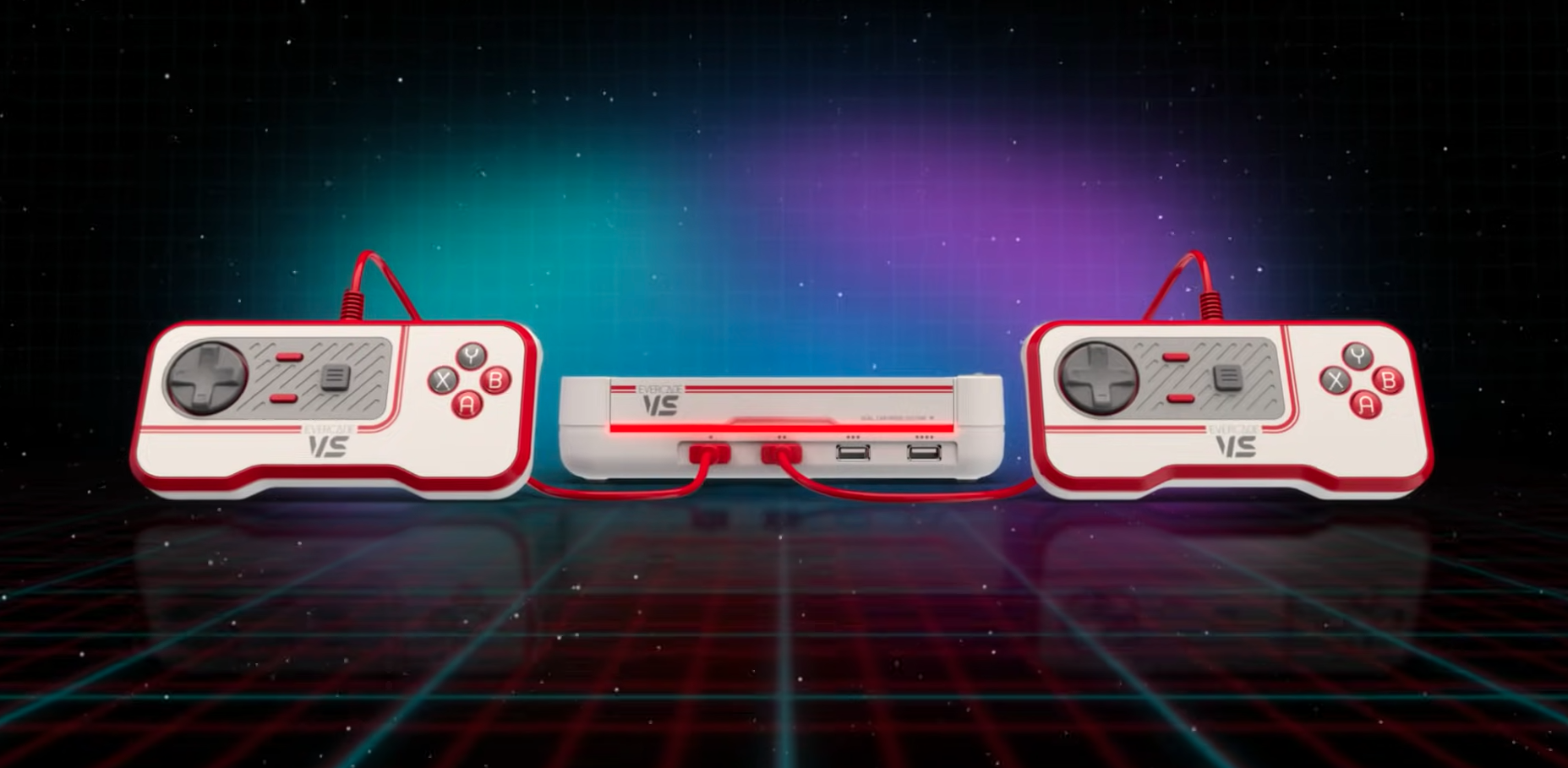 The Evercade VS is a retro games console with a few modern features