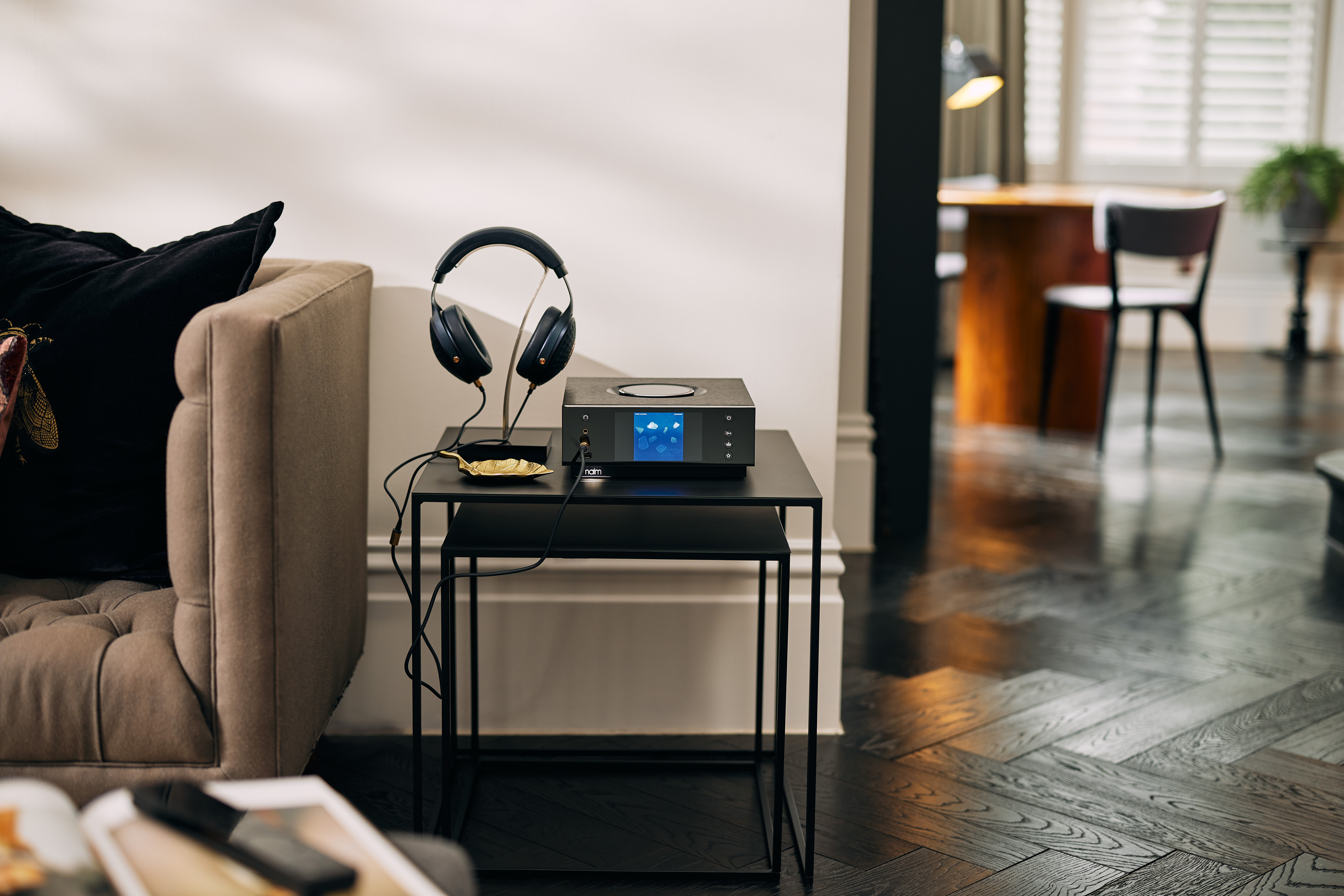 Naim says that the Uniti Atom Headphone Edition is powerful enough to drive even the most demanding luxury headphones