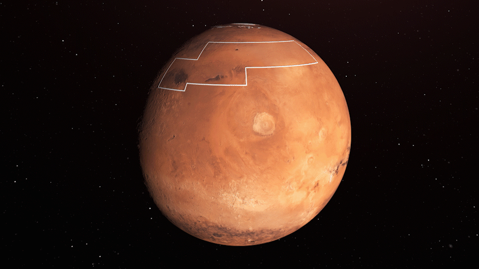 NASA releases Martian water map for future astronauts