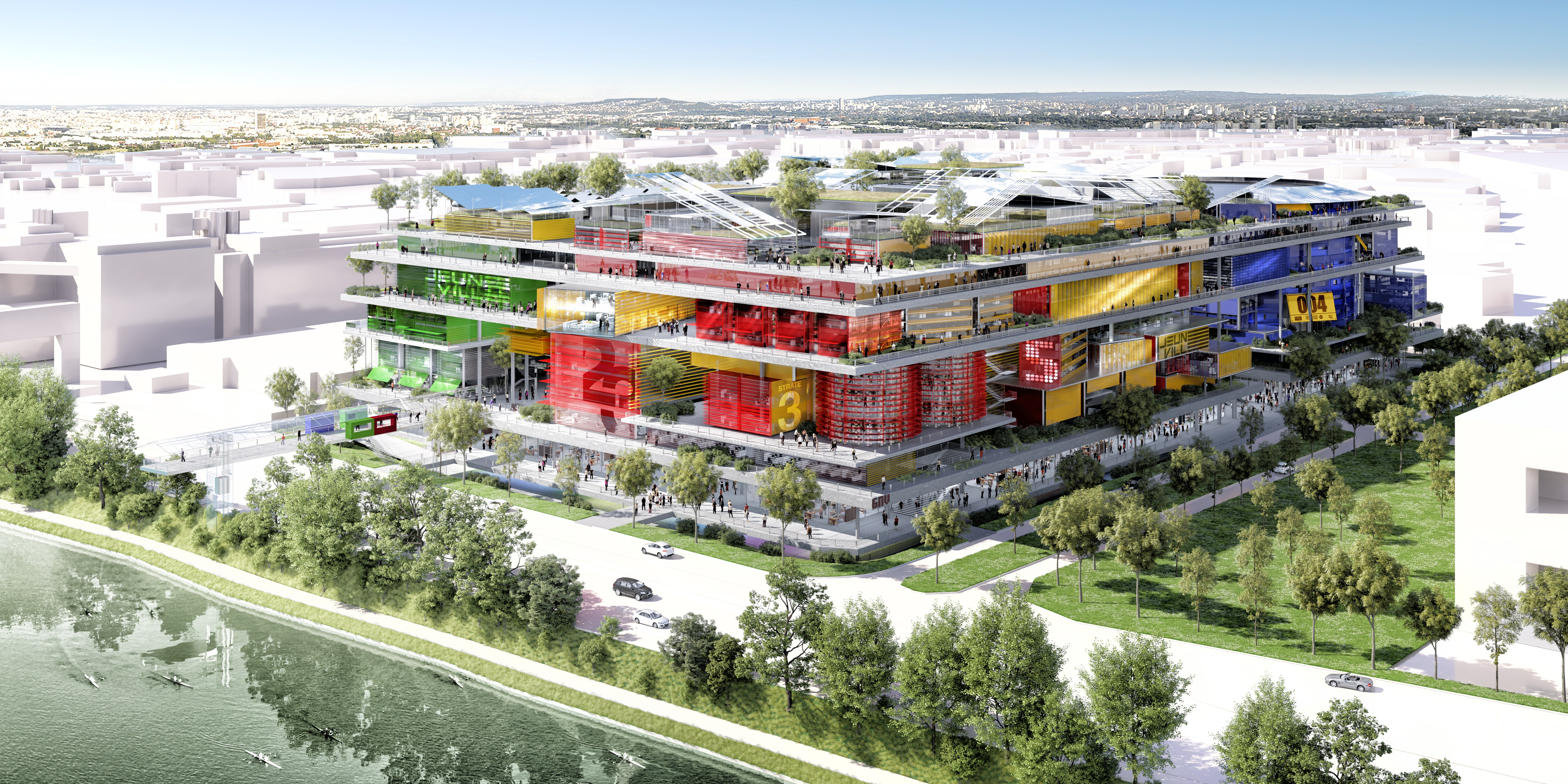 Jeuneville is expected to begin construction in 2022, with completion slated for 2025