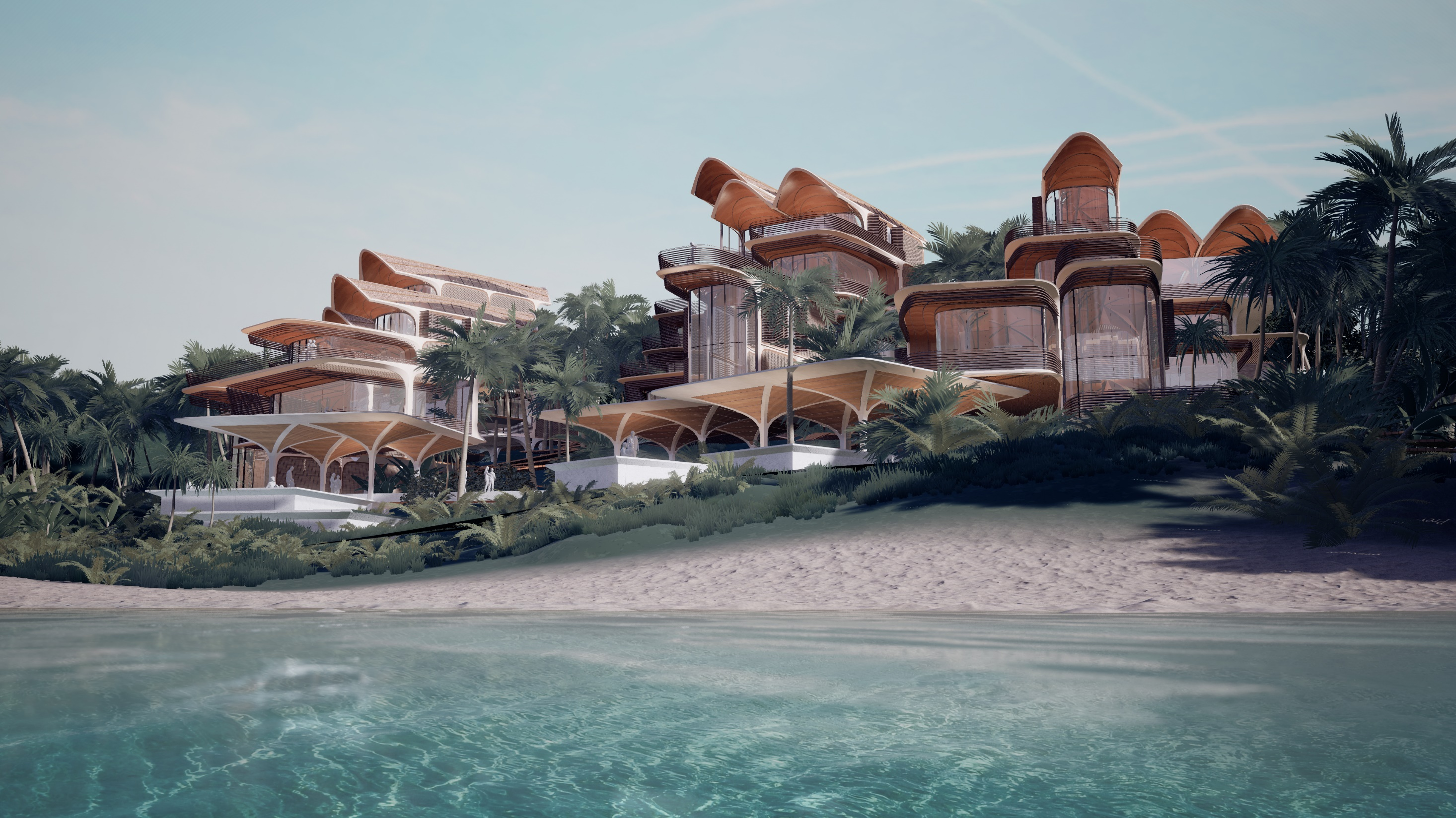 Roatán Próspera Residences will include sustainable design and technology, such as solar power