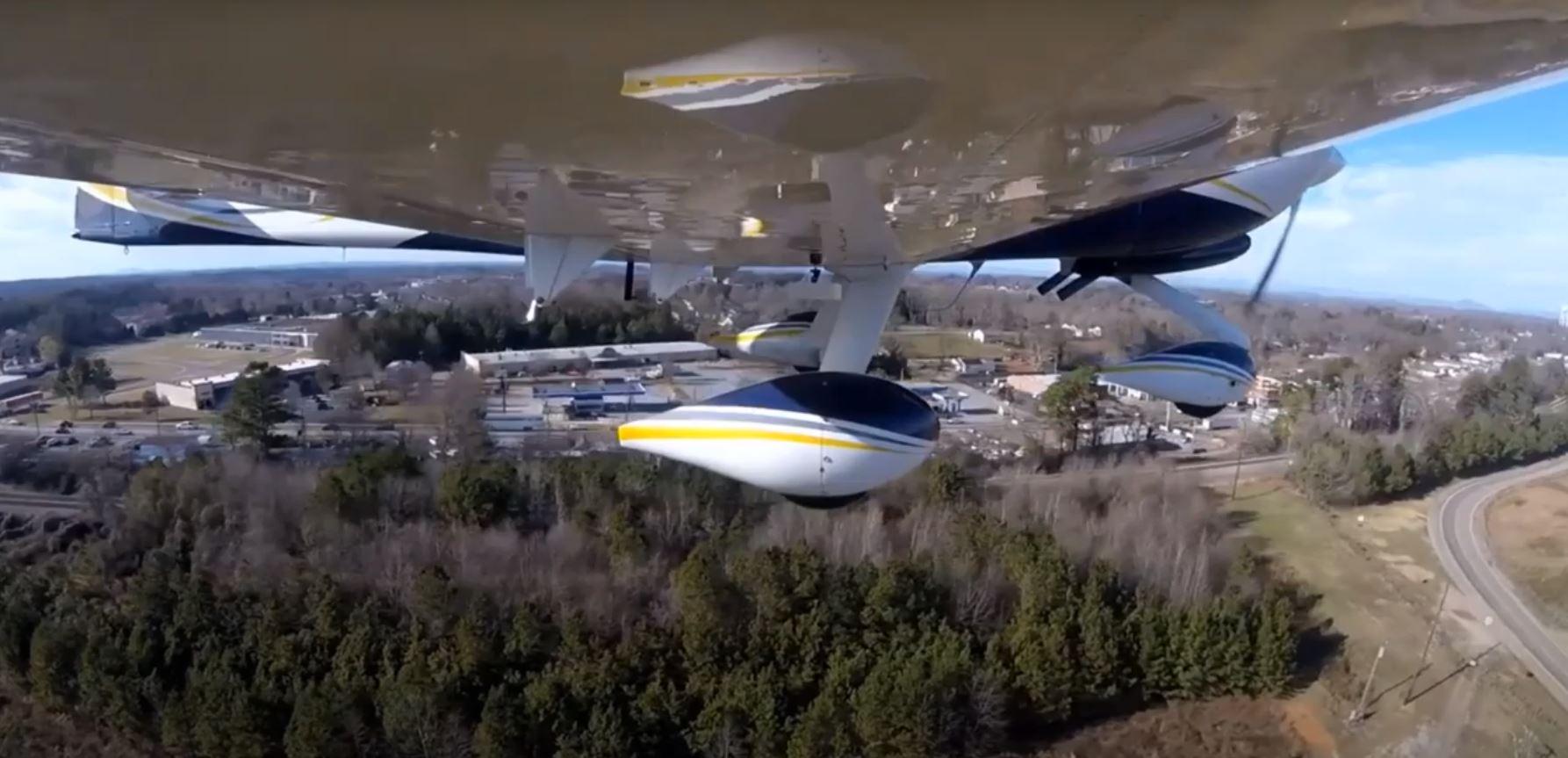 Land-DAR is designed to help pilots measure altitude during landings