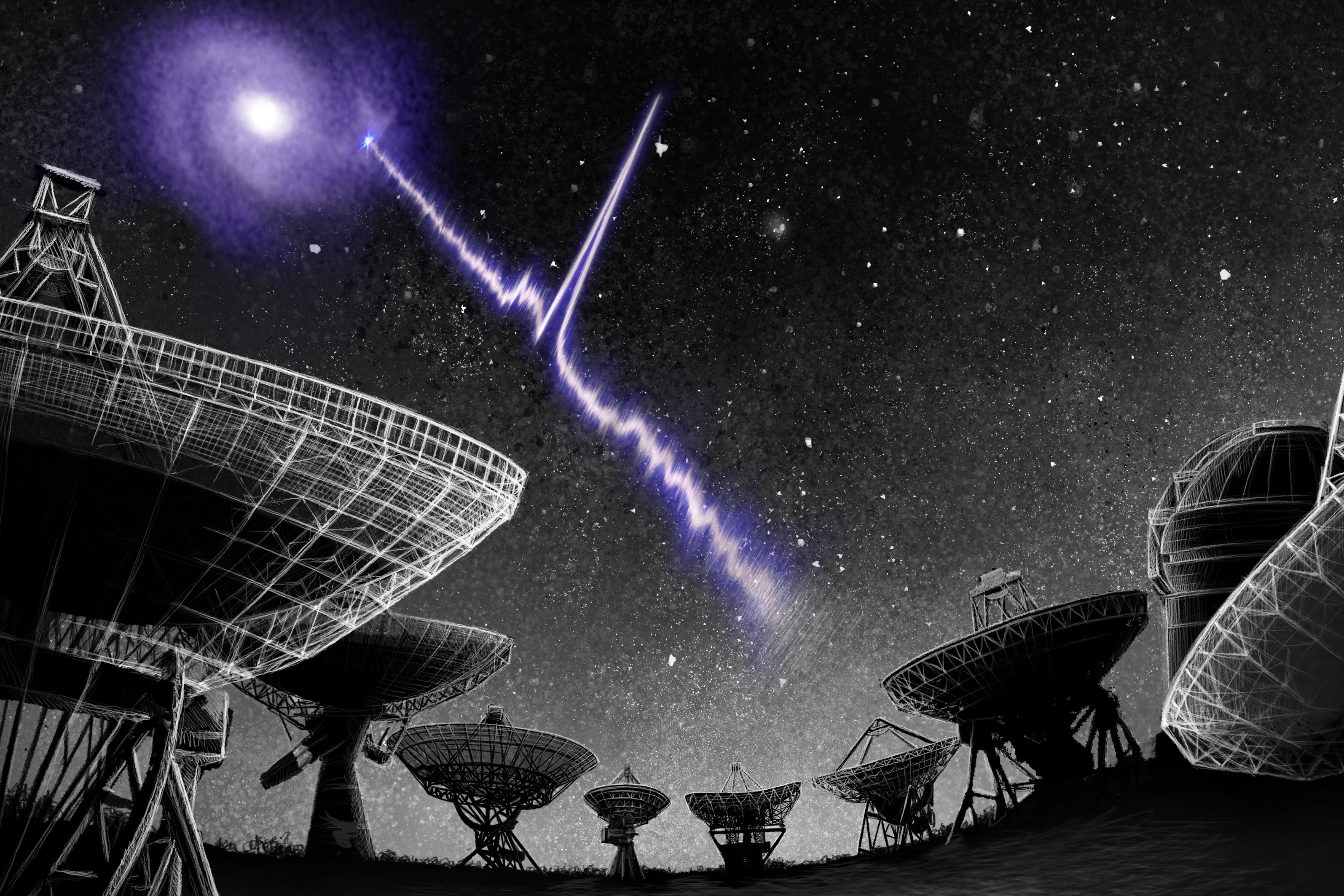Repeating radio signal traced back to nearby galaxy