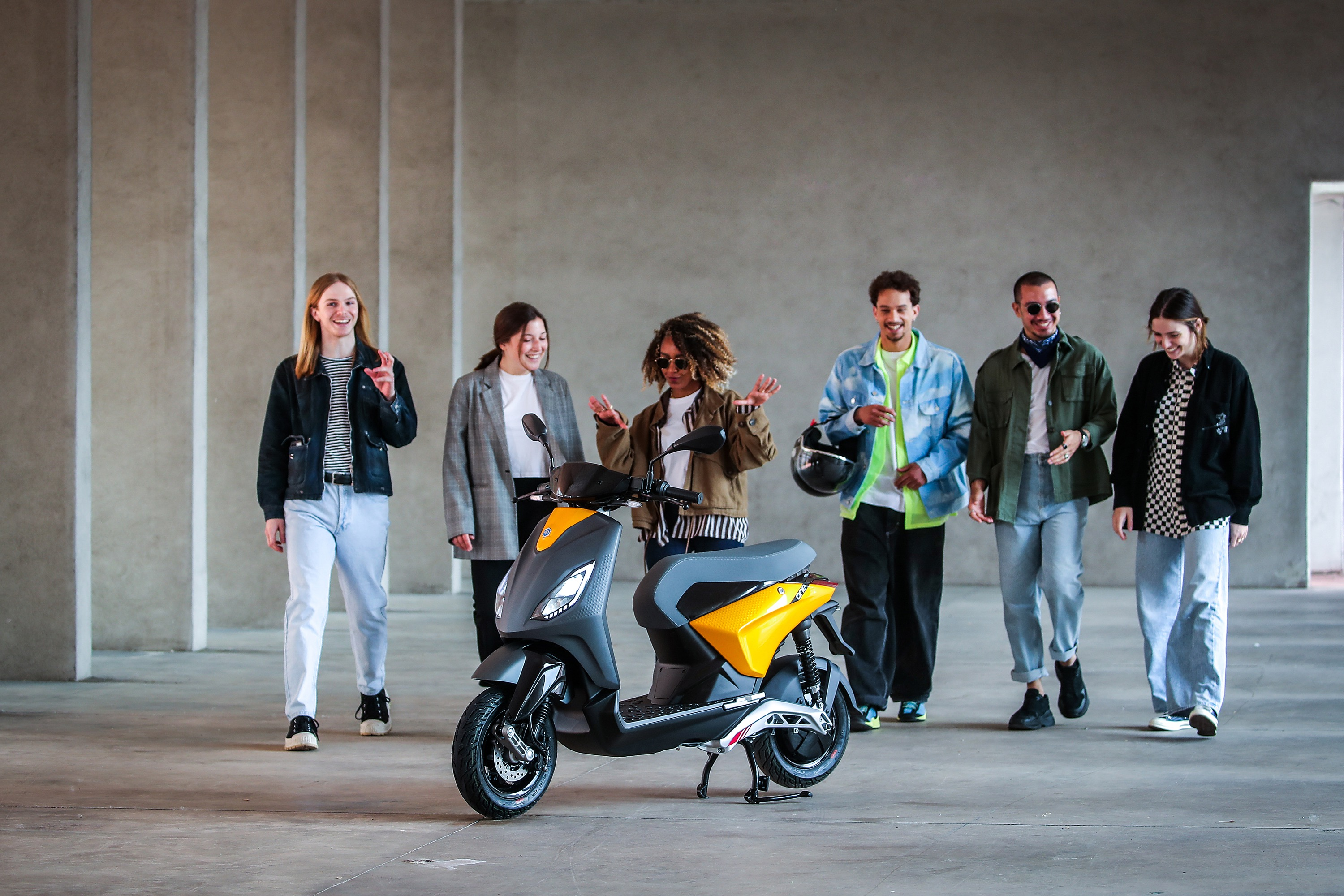 The Piaggio One electric scooter is being squarely aimed at young riders, and will launch in Europe from the end of June 2021