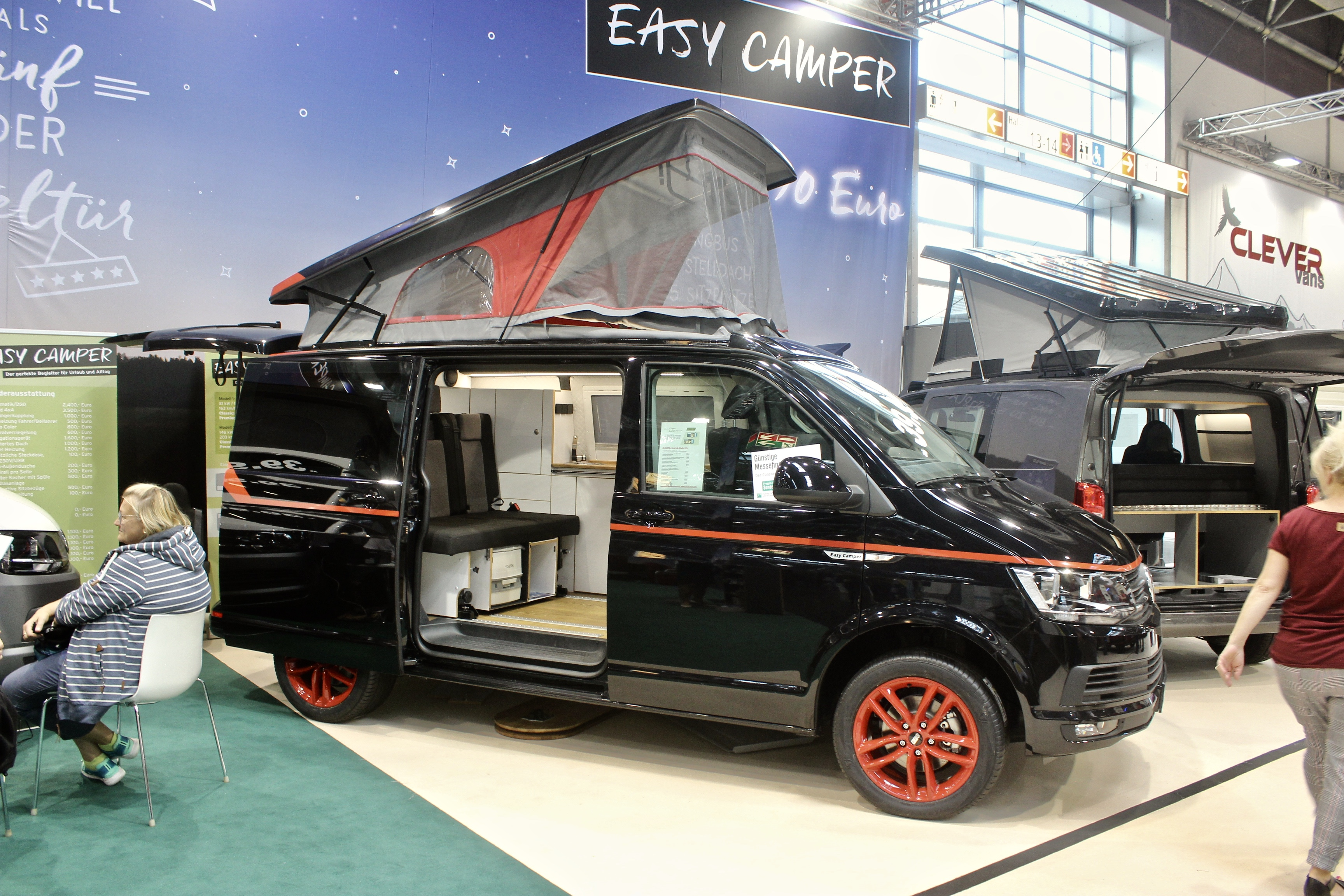 VW Bulli camper van with A-Team look is instant legend