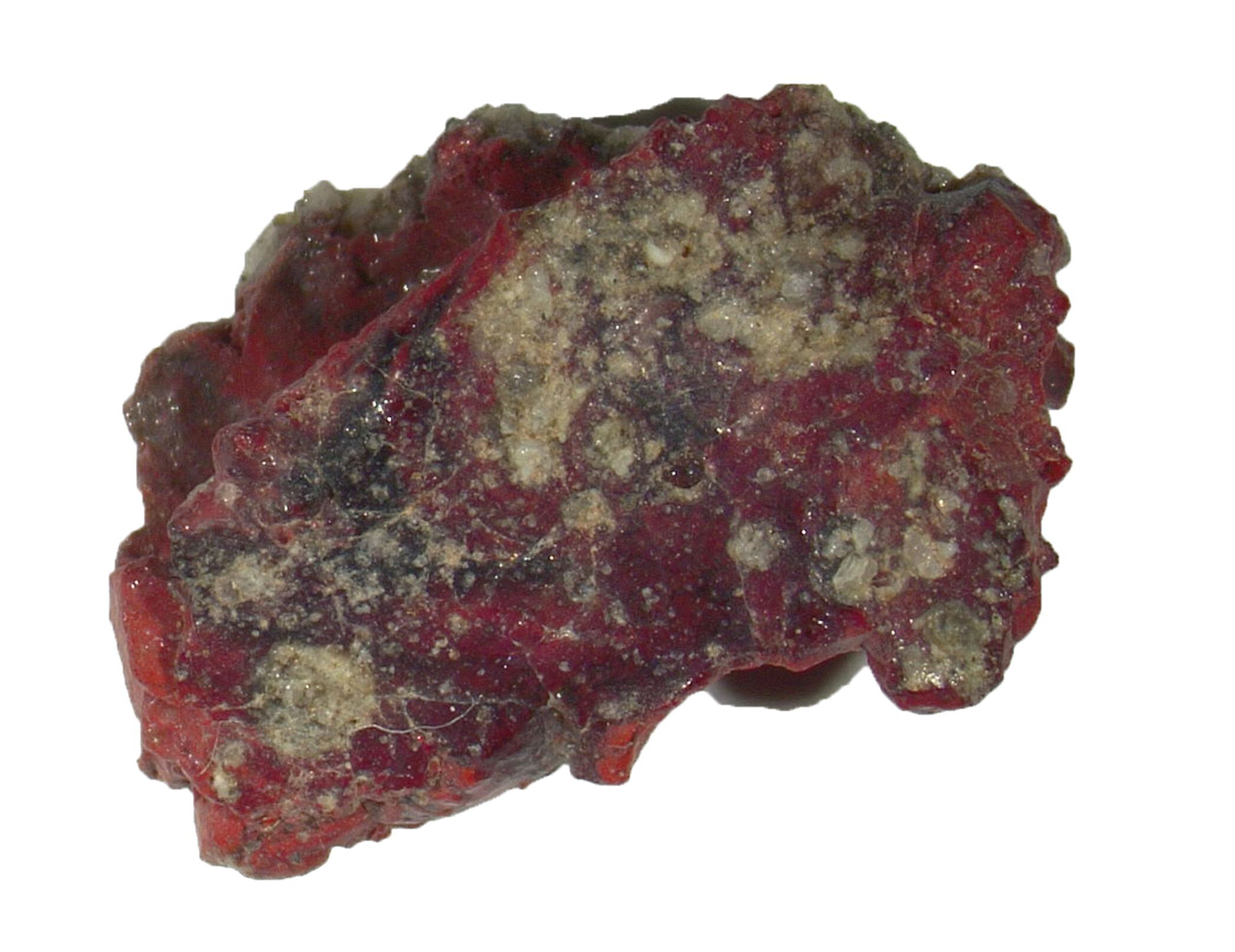A sample of red trinitite, containing the newly identified quasicrystal