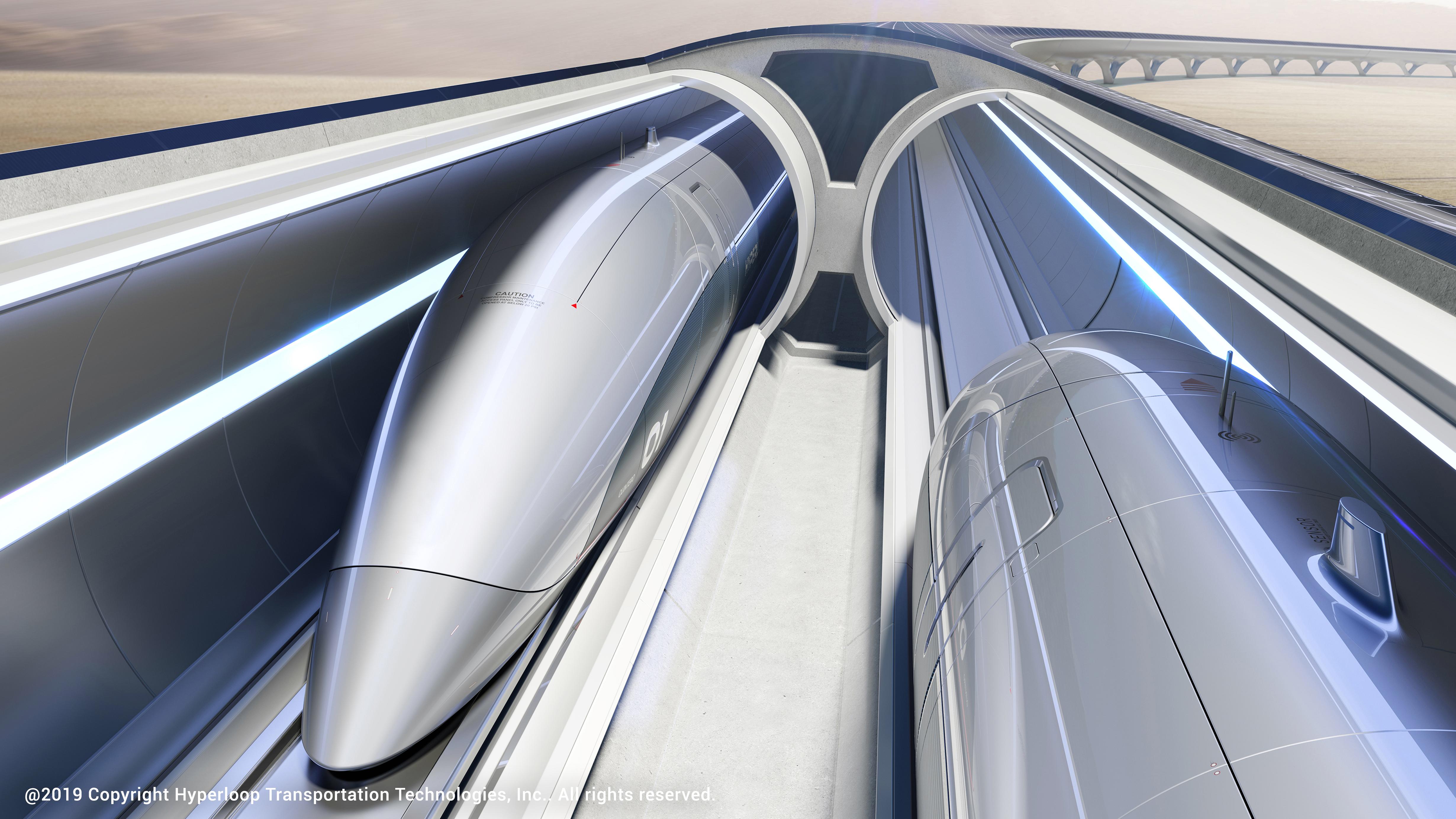 Zaha Hadid Architects has joined with Hyperloop Italia to bring the burgeoning transportation technology to Italy