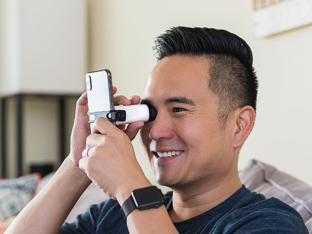 This at-home eye-testing device lets you prescribe your own eyeglasses