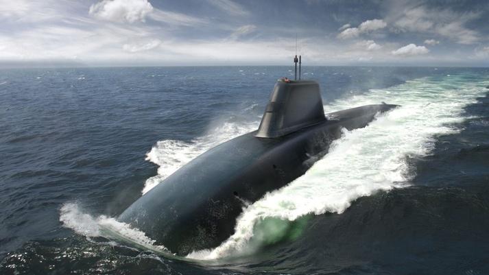 Artist's concept of HMS Dreadnought