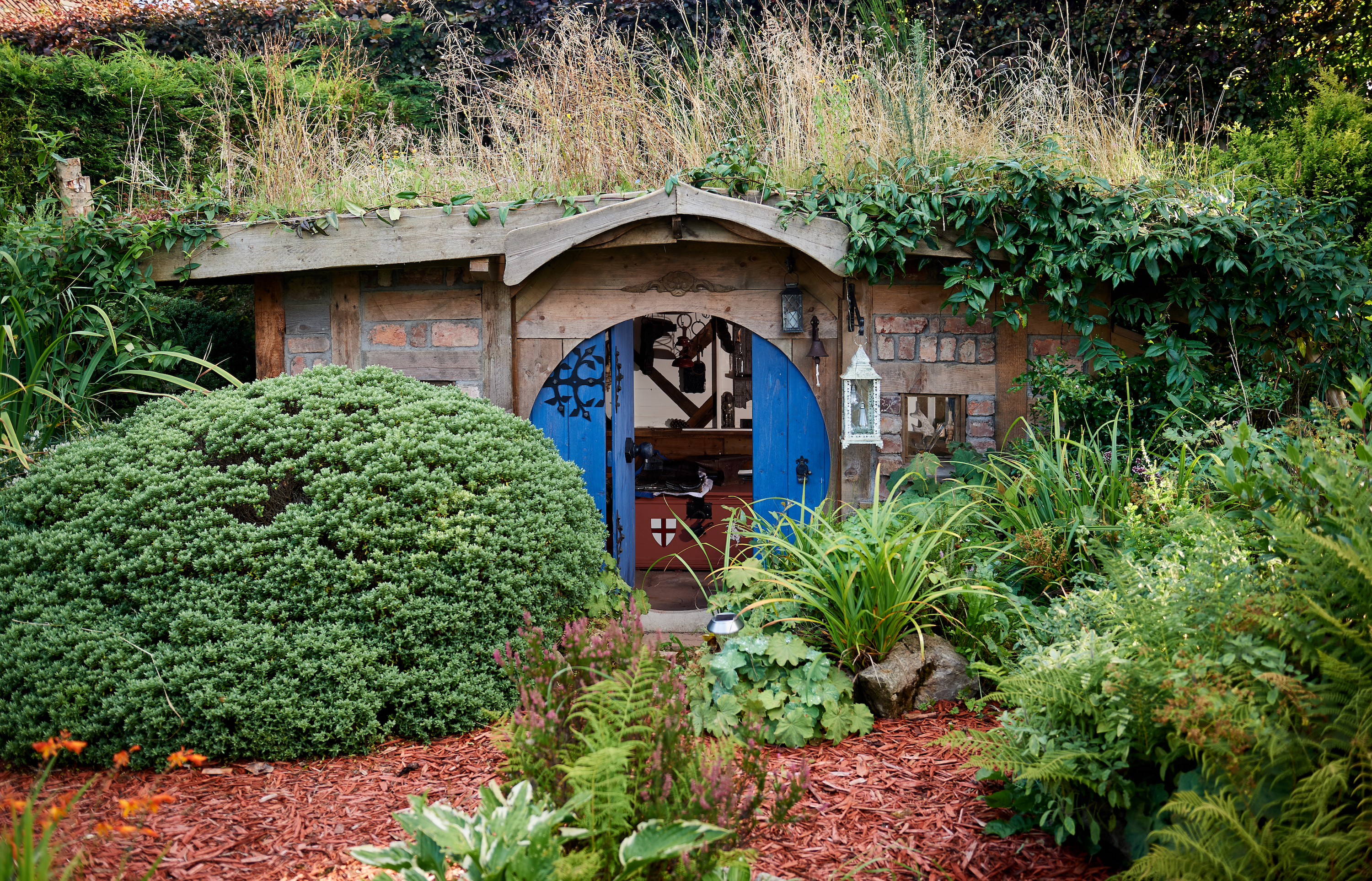 Hobbit Hole-inspired Bux End takes 2019 Shed of the Year