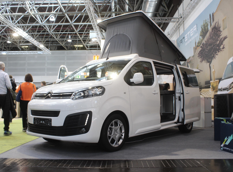 Crazy-versatile camper van transforms into 8-seat MPV and cargo van