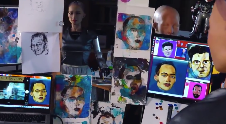 Sophia is the first robot to sell a piece of NFT digital art
