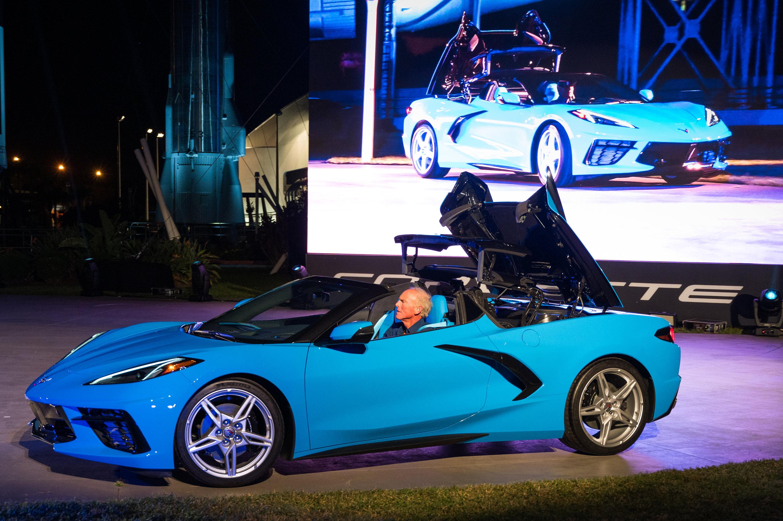 Chevrolet unveils new Corvette hardtop convertible and surprise C8.R racer