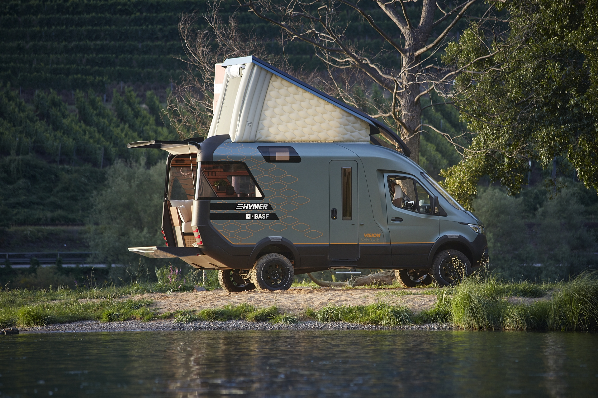 BASF dives into the details of 2019's coolest camper van