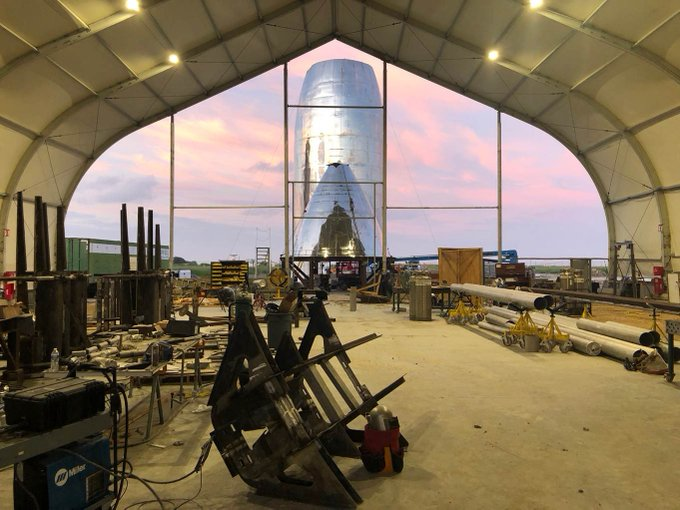SpaceX prepares new Starship for first orbital flights
