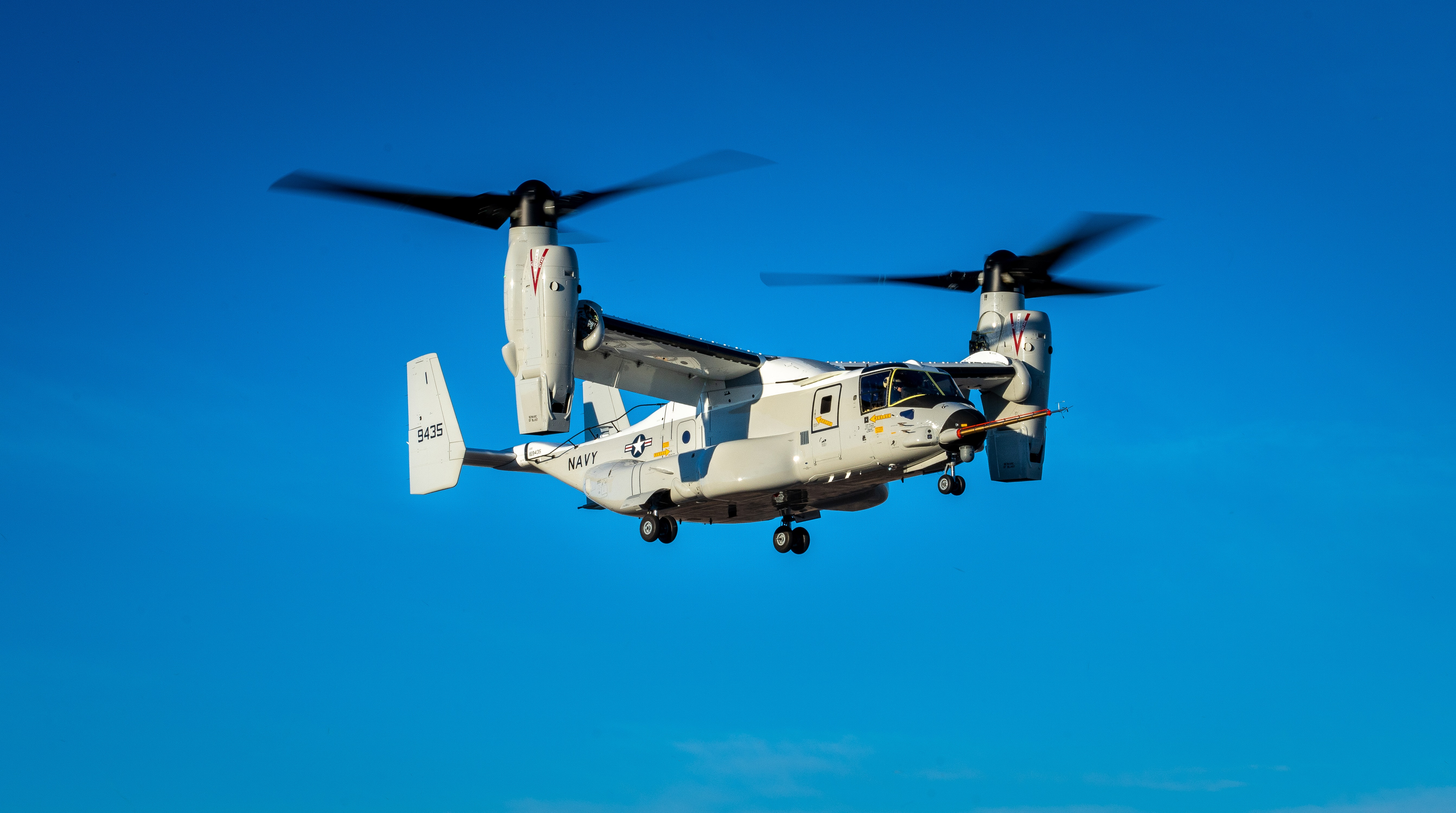 Boeing CMV-22B Osprey makes maiden flight