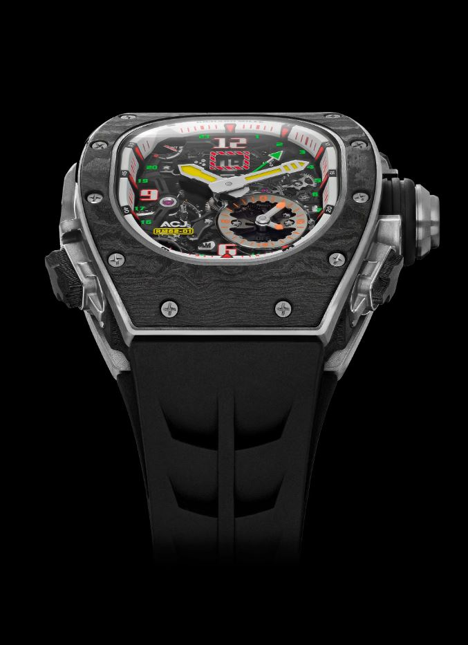 Richard Mille and Airbus create vibrating traveler's watch