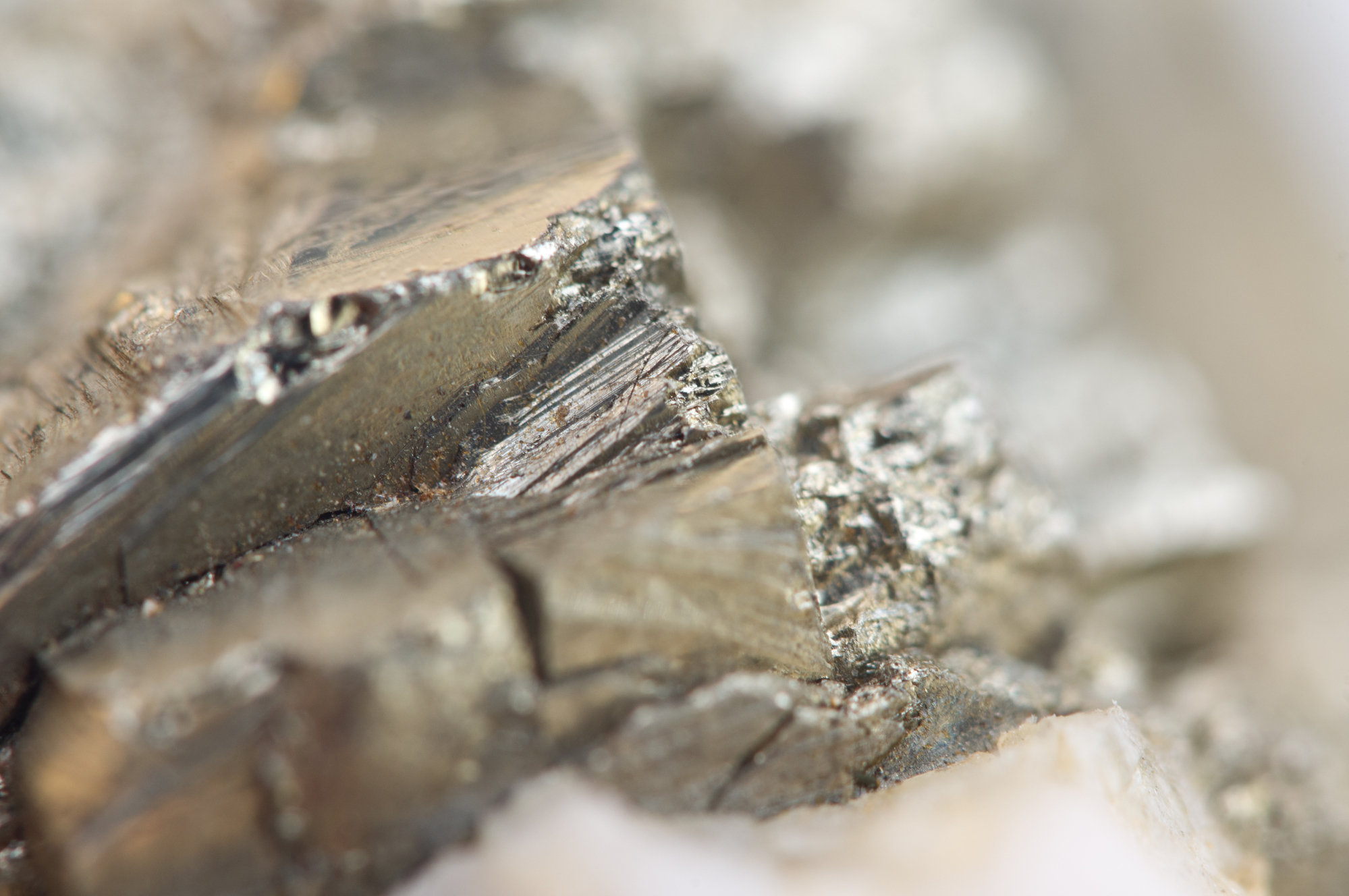 Researchers have induced magnetism in pyrite, a non-magnetic material, using electricity