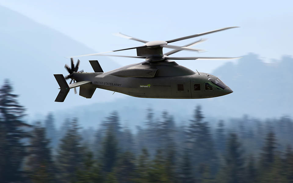 THe Defiant X is being developed for the US Army