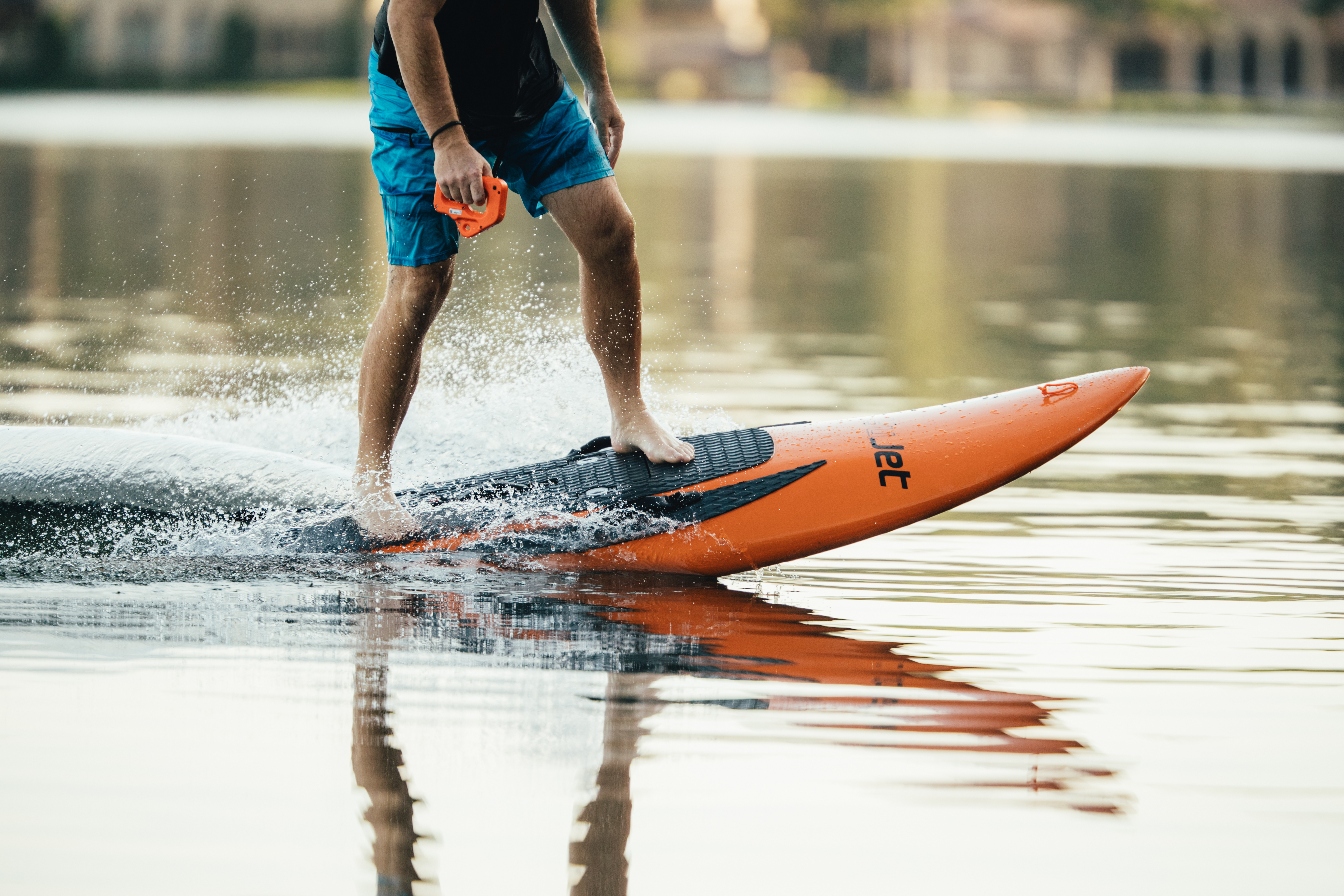 No need to hit the beach to surf, you can make your own waves with the YuJet Surfer electric jetboard