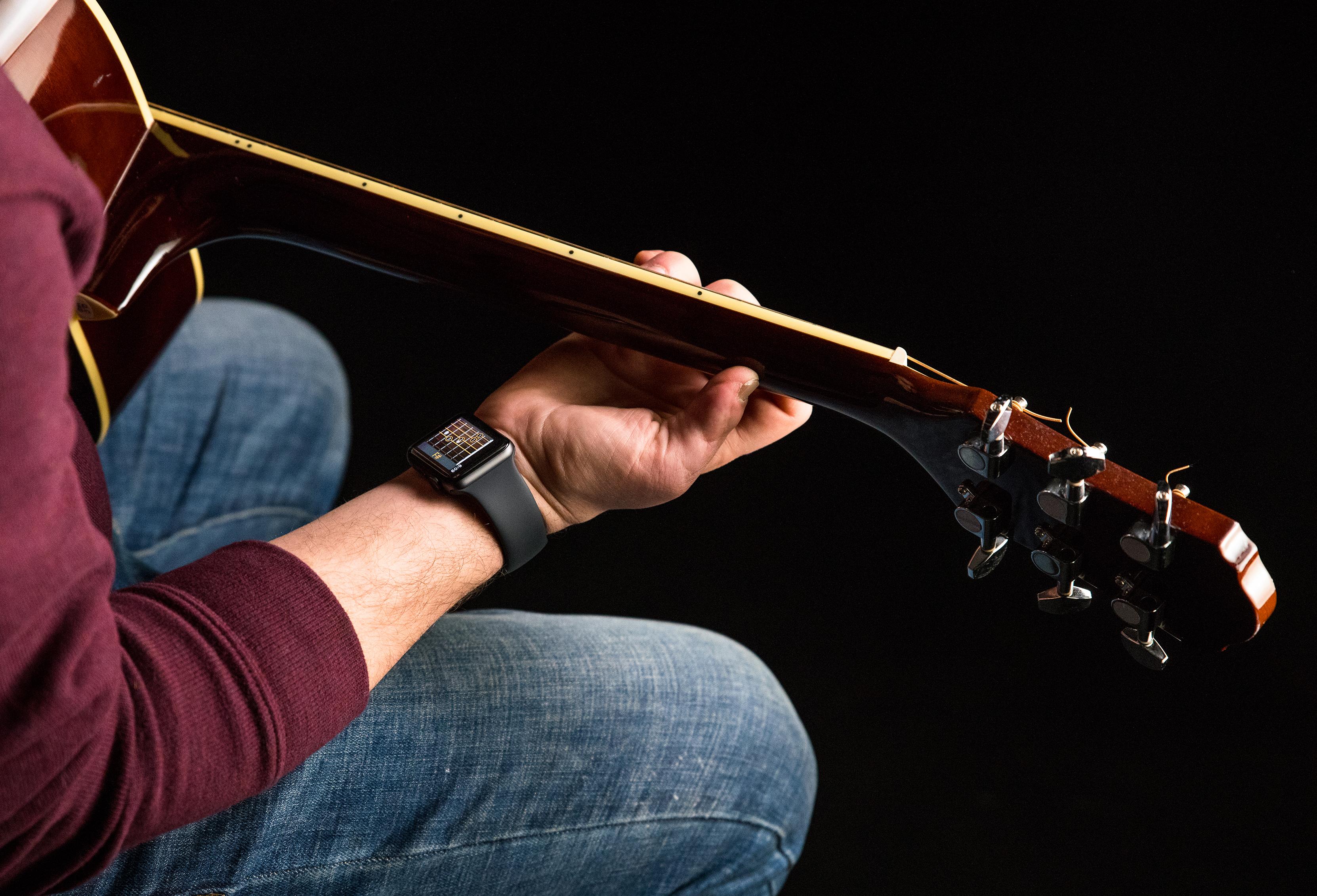 Wristruments puts a personal guitar teacher on your wrist