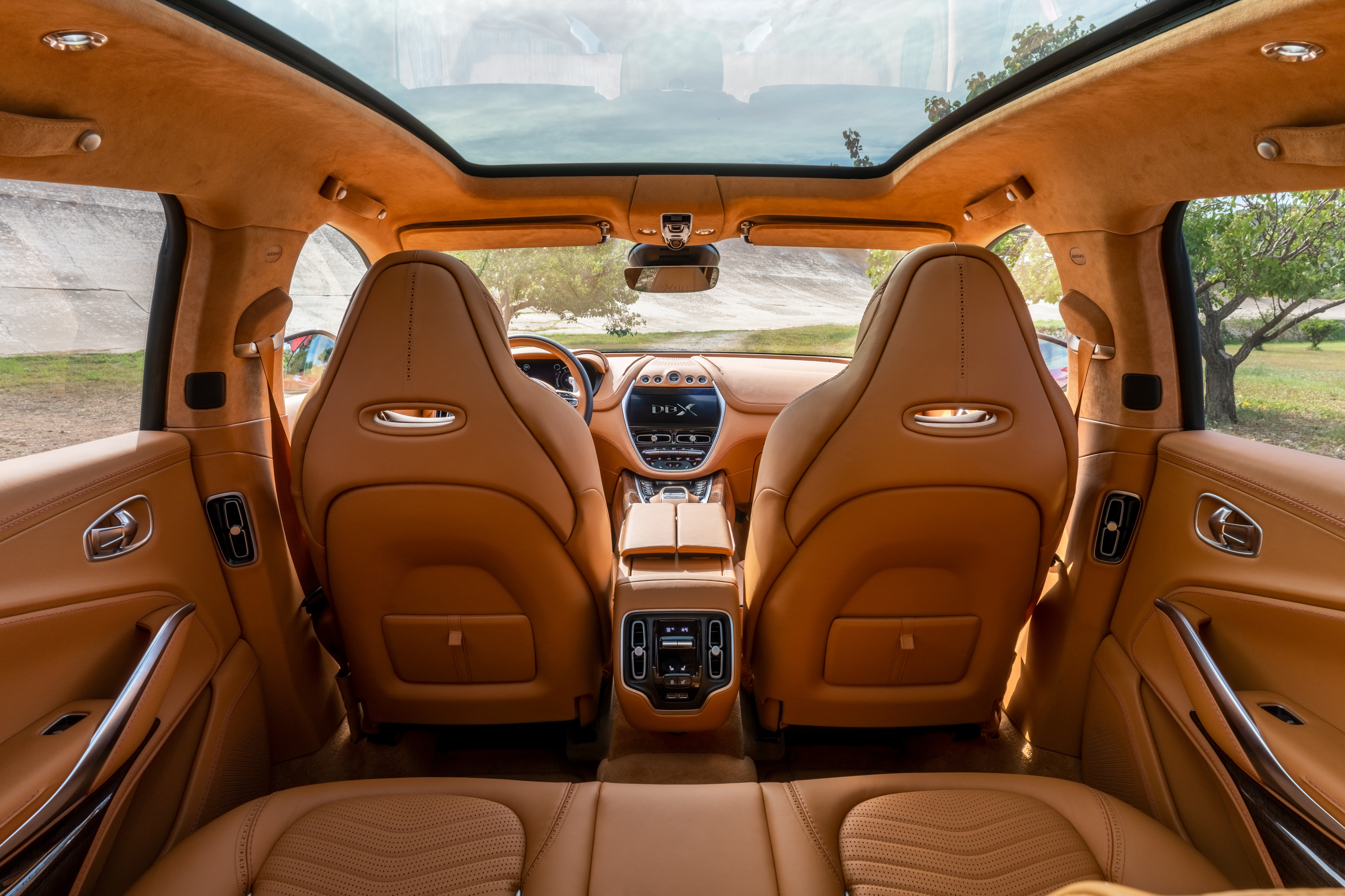 Aston Martin provides look under the glass roof of its $190K DBX SUV