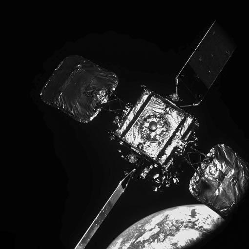 Intelsat 10-02 as seen from MEV-2