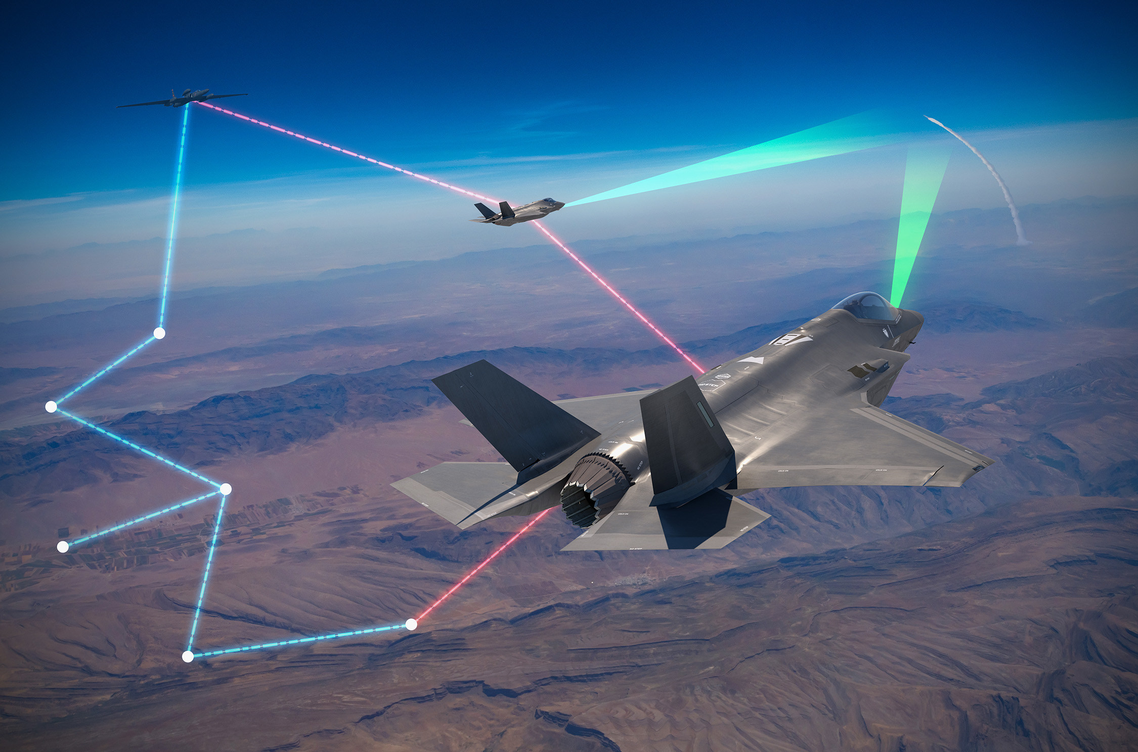 Project Riot demonstrates networked missile defense