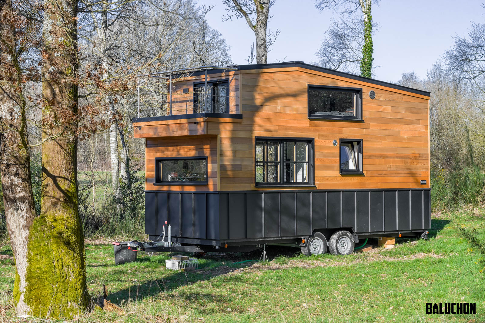Tiny House Rhapsodie serves as a home and studio for its musician owner