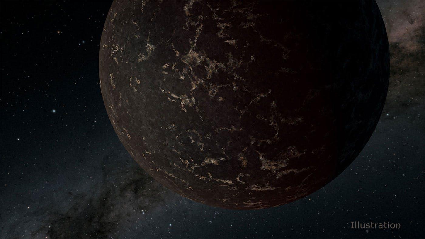 NASA's Spitzer Space Telescope sheds light on Moon-like exoplanet