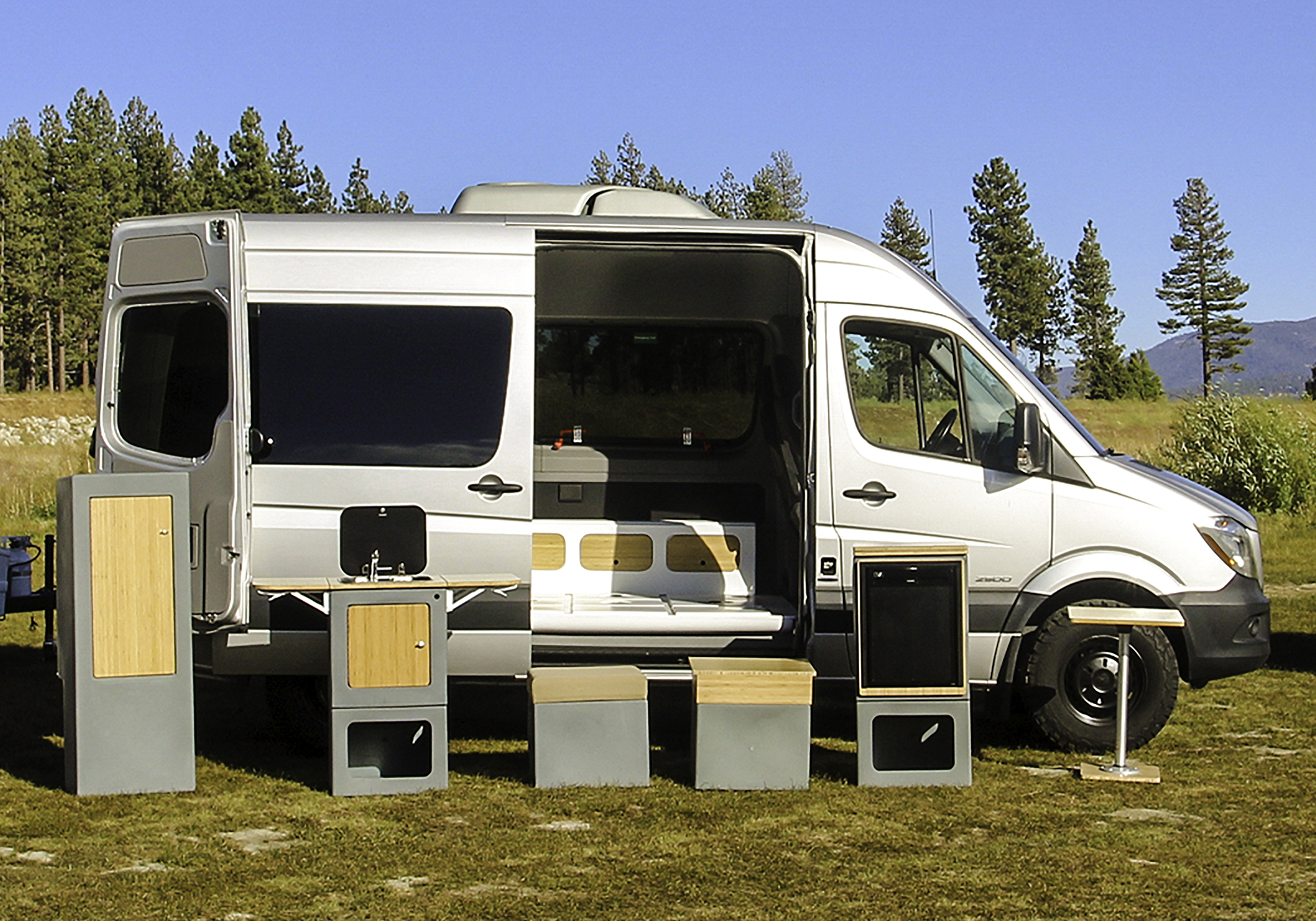 Happier Adaptiv camper van changes the game with Lego-style modularity