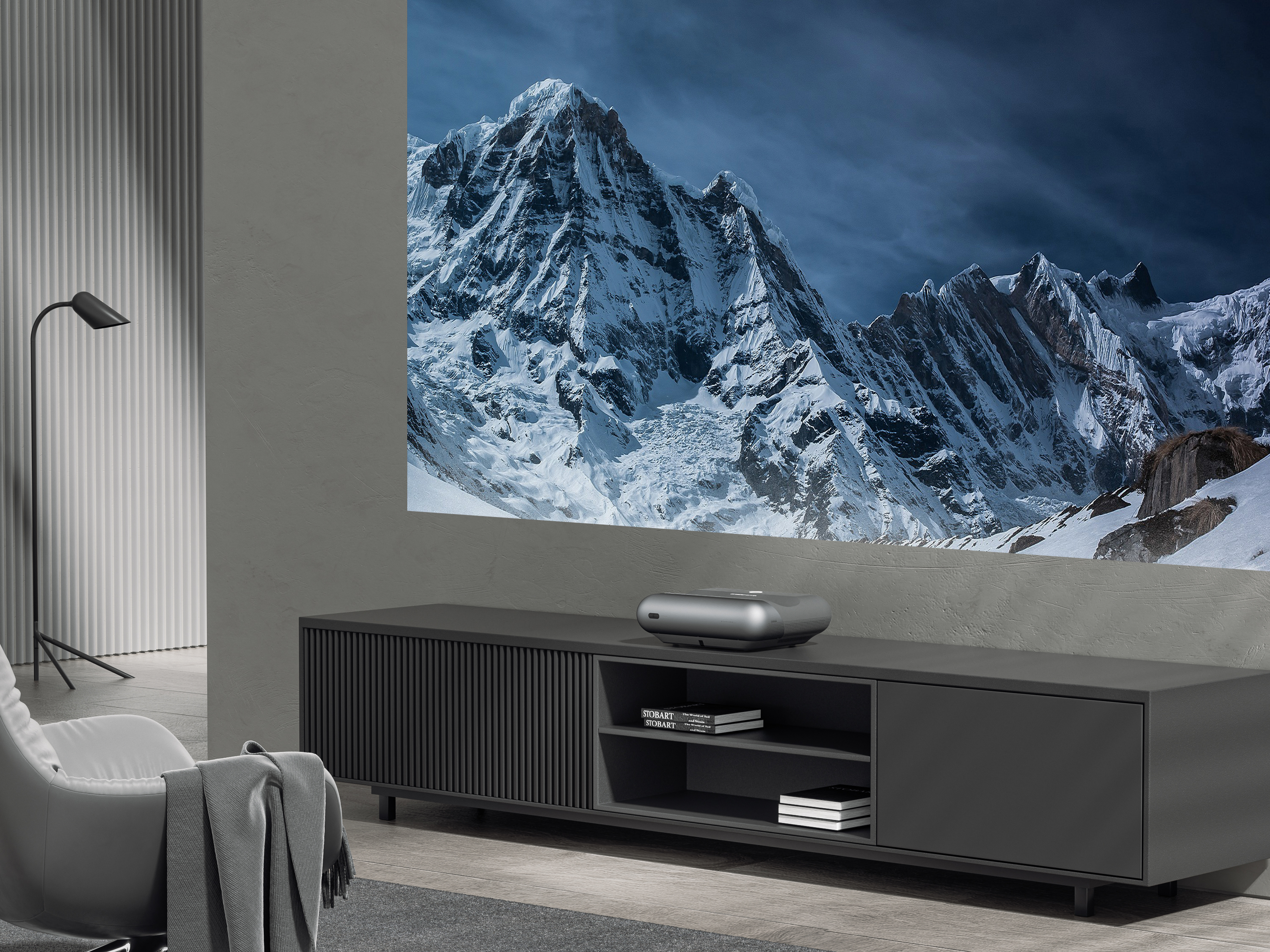 Big screen entertainment from mere inches away from the wall or screen, that's what JMGO promises from the O1 Series UST projectors