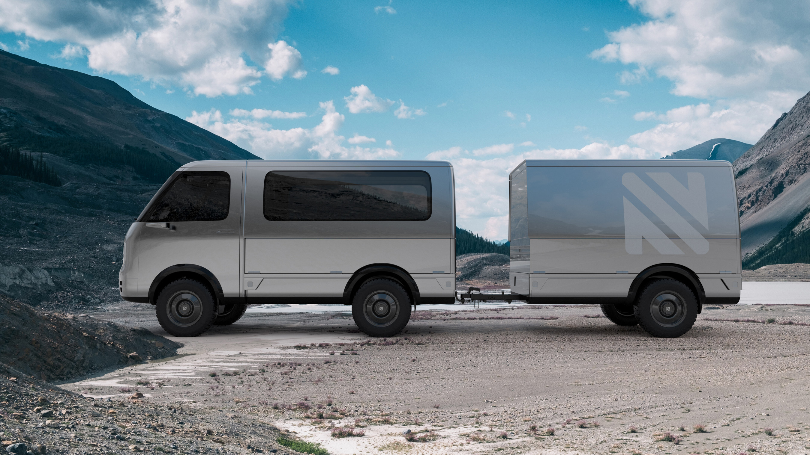 Neuron electric camper van and robo tiny home aim to disrupt travel