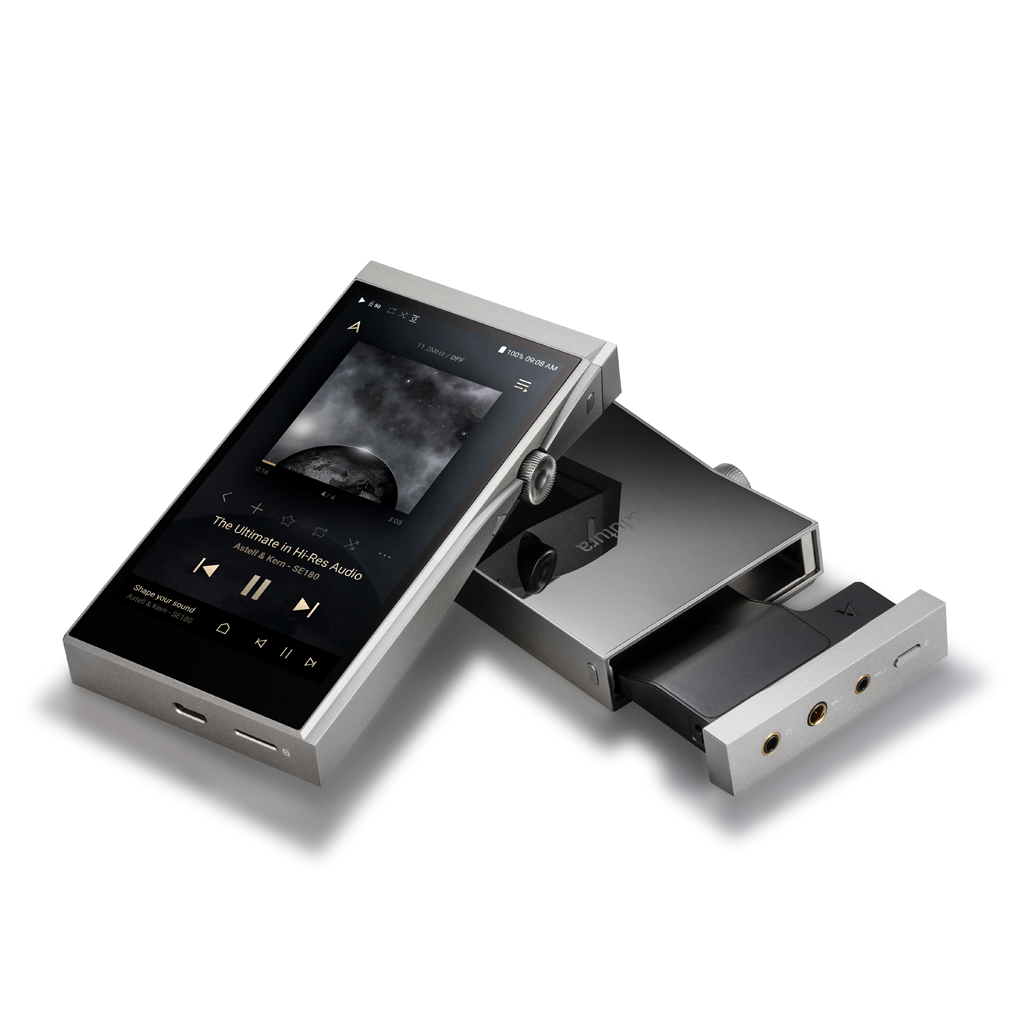 Astell&Kern give listeners the option to use different sound modules with the A&futura SE180 music player