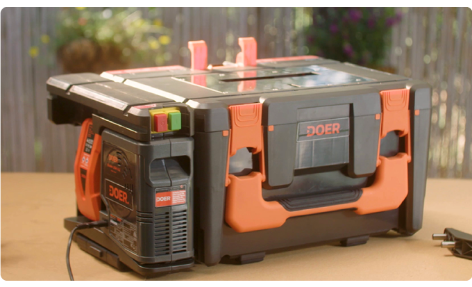 12-in-1 Doer carries a shed's worth of power tools in one compact box