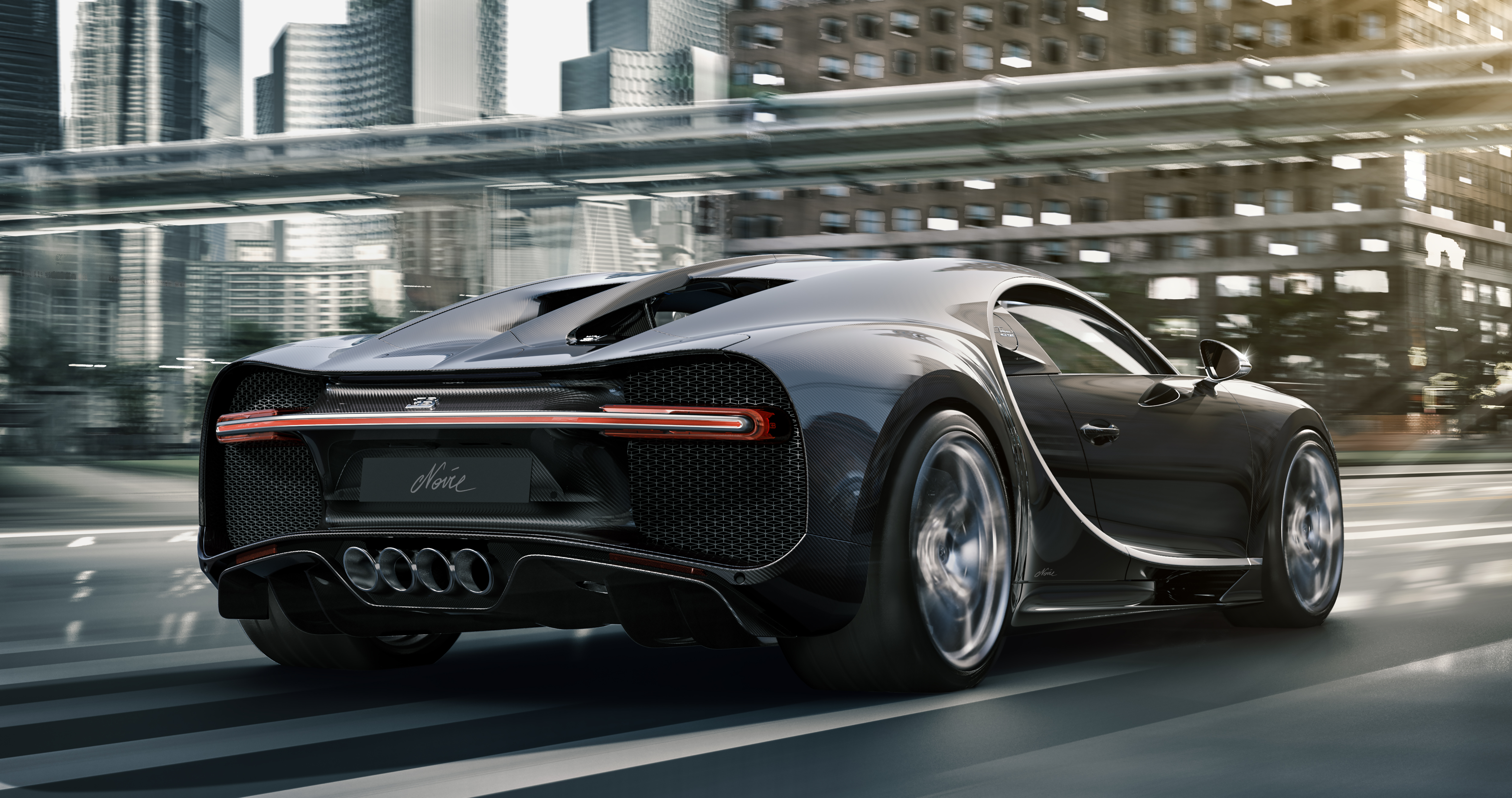Bugatti to build 20 really, really black Chiron Noire hypercars