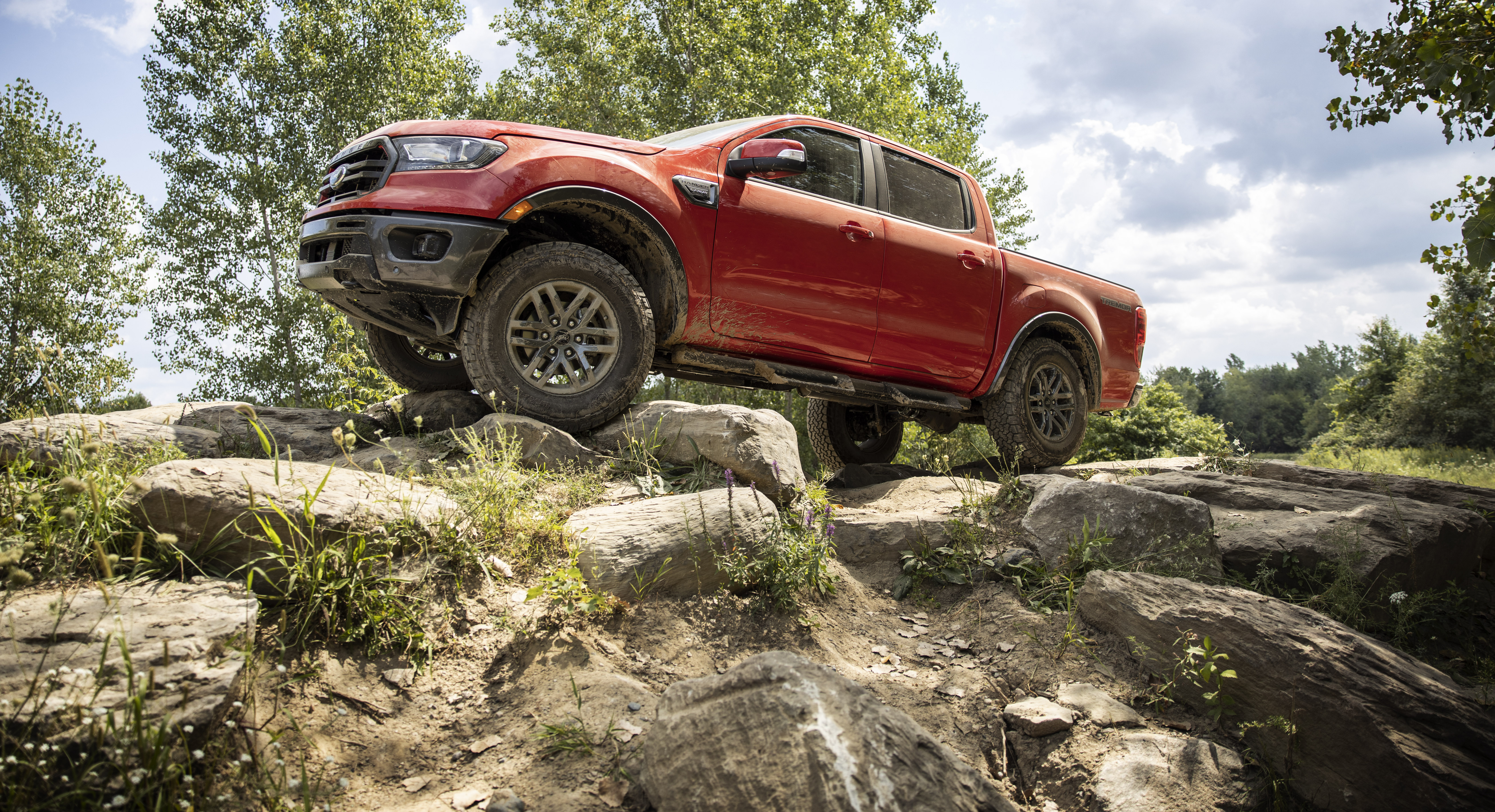 The 2021 Ranger Tremor creates the most off-road-ready factory-built Ranger ever offered in the US