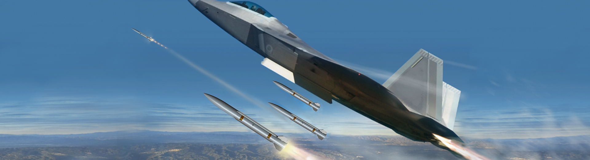 Raytheon shows smaller, longer-range air-to-air missile