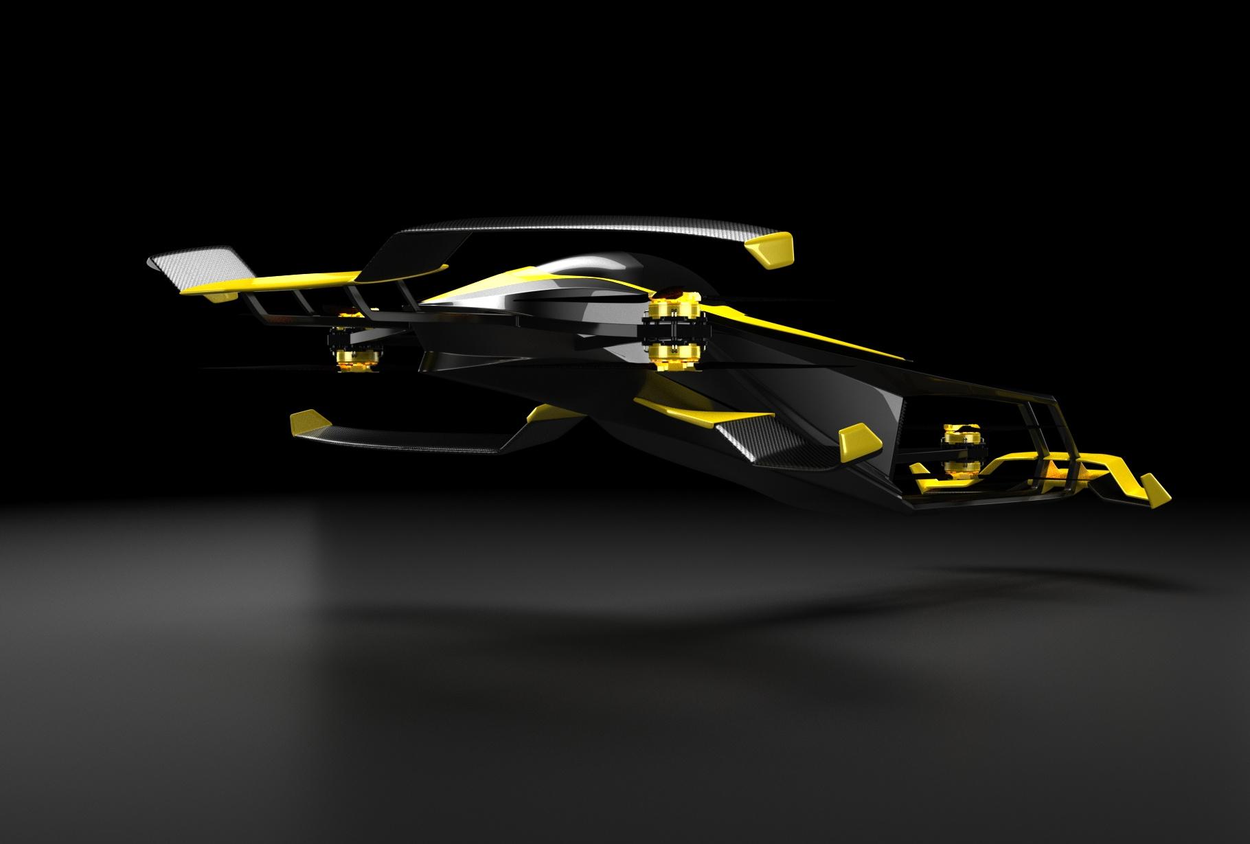 MACA hopes to develop a semi-autonomous, human-piloted H2 racing copter