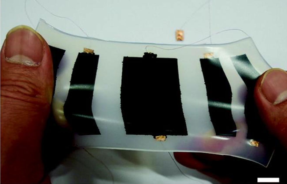 Pocketable ElectroSkin robot crawls and clings to walls