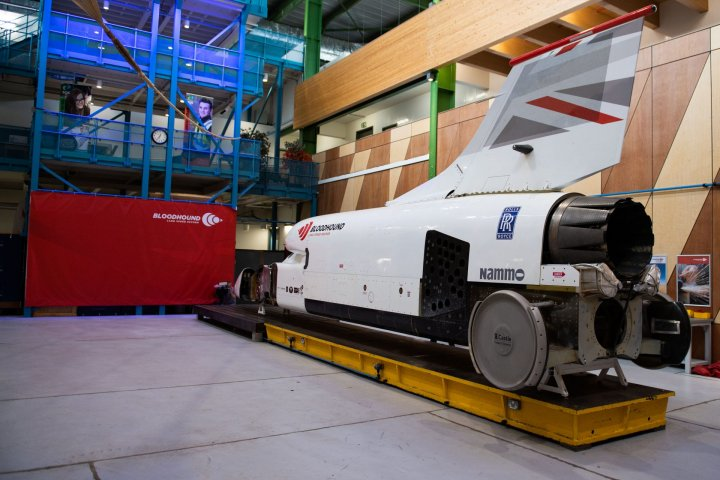 """Bloodhound supersonic car is getting its """"green"""" rocket"""