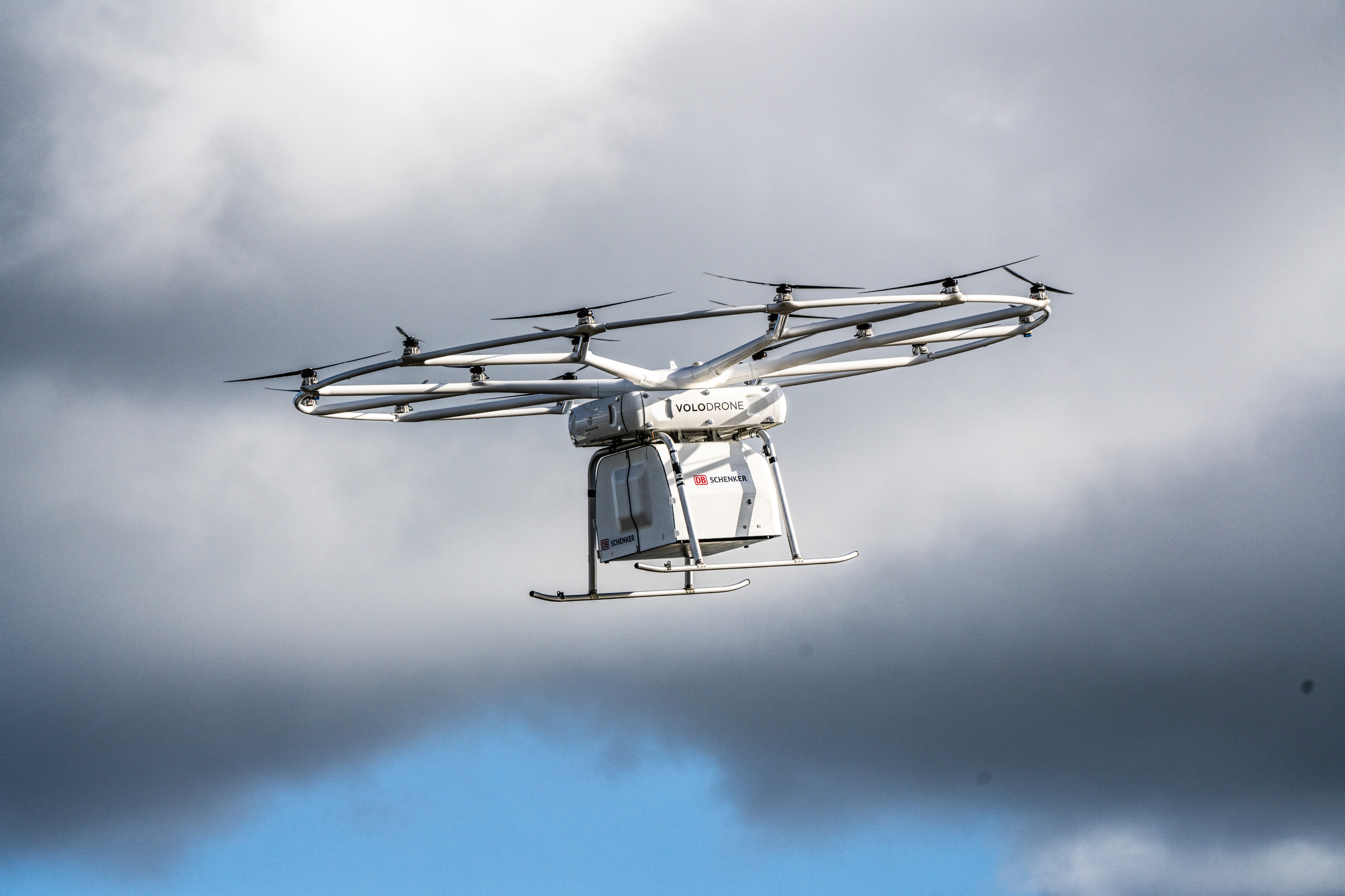 The VoloDrone in action