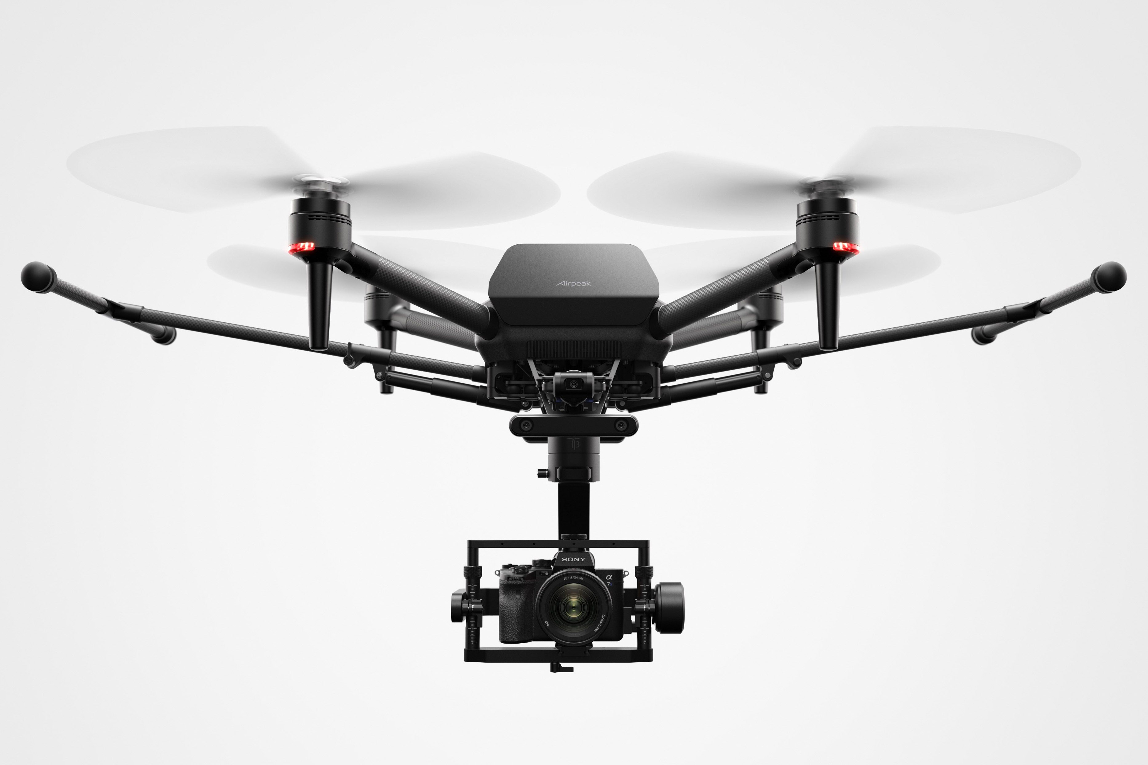 Sony is starting a new drone business called Airpeak, dedicated to flying its Alpha cameras in professional filmmaking settings